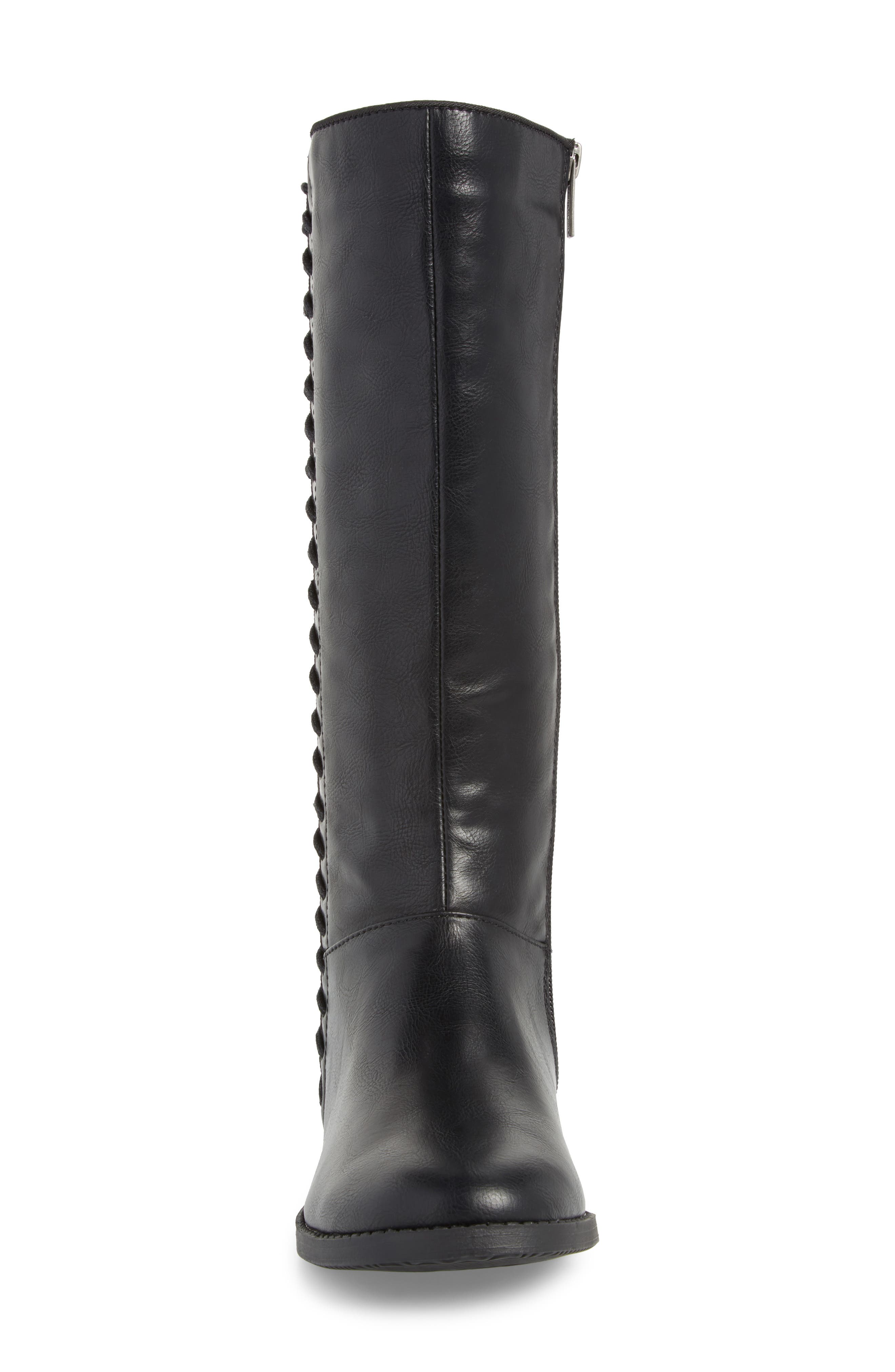 Kennedy Laced Tall Boot,                             Alternate thumbnail 4, color,