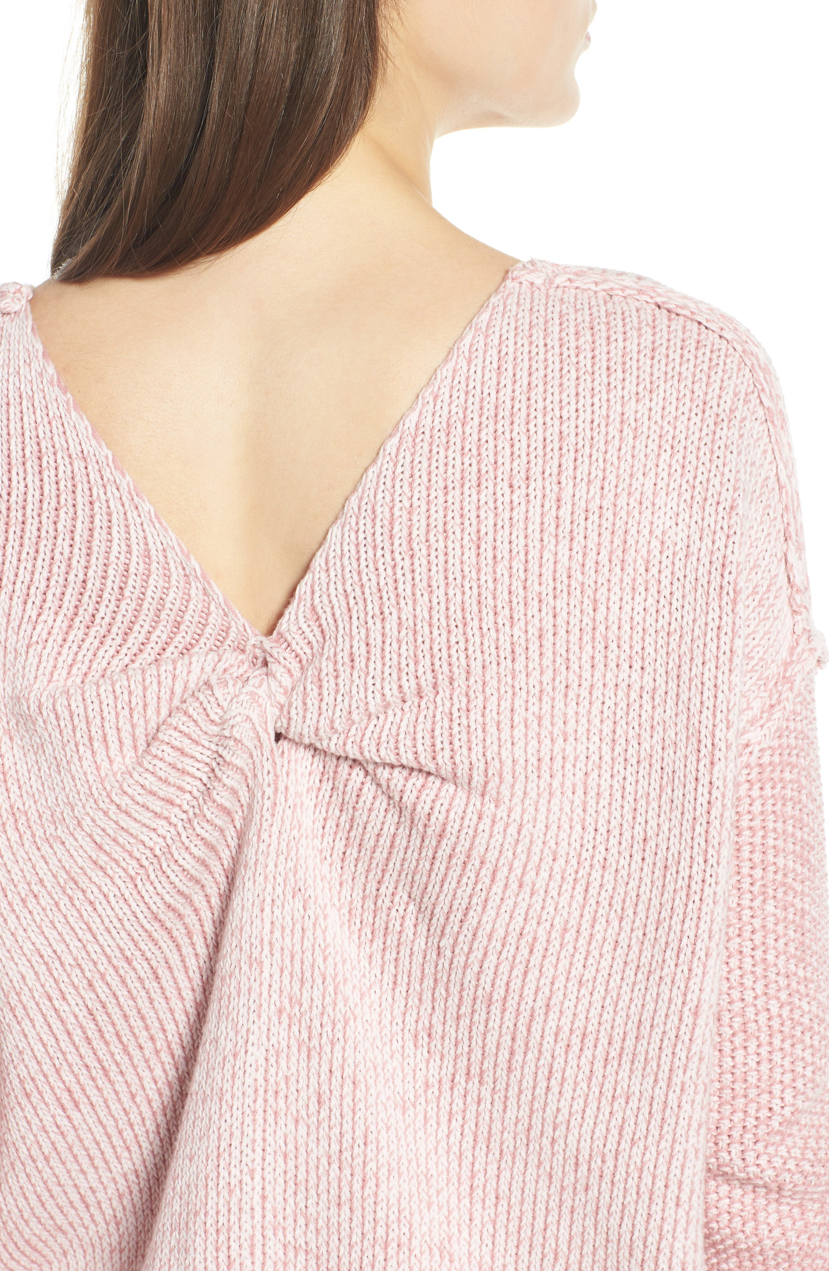 Lola Reversible Twist Sweater,                             Alternate thumbnail 15, color,