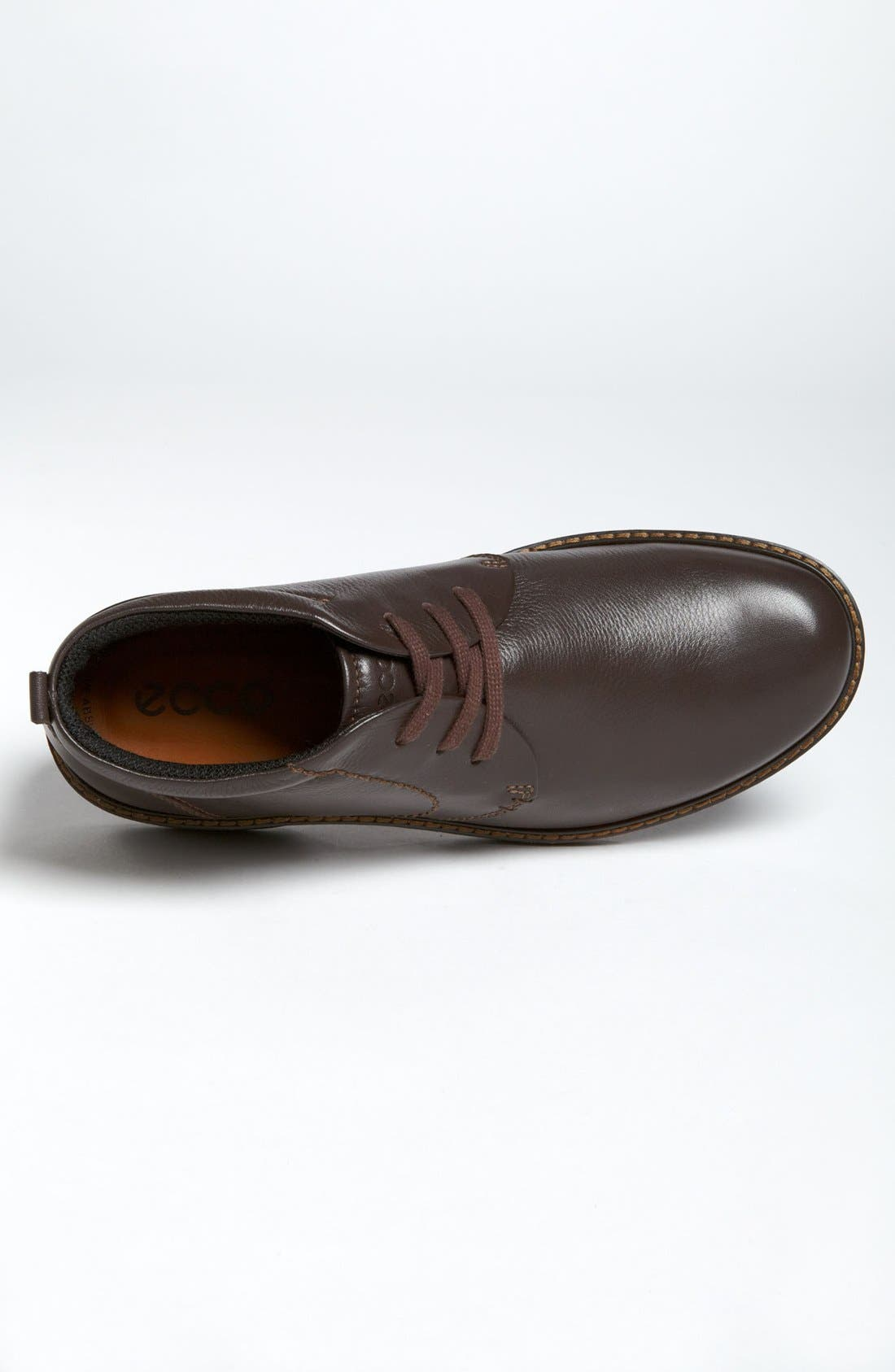 'Turn' Chukka Boot,                             Alternate thumbnail 3, color,                             COFFEE LEATHER