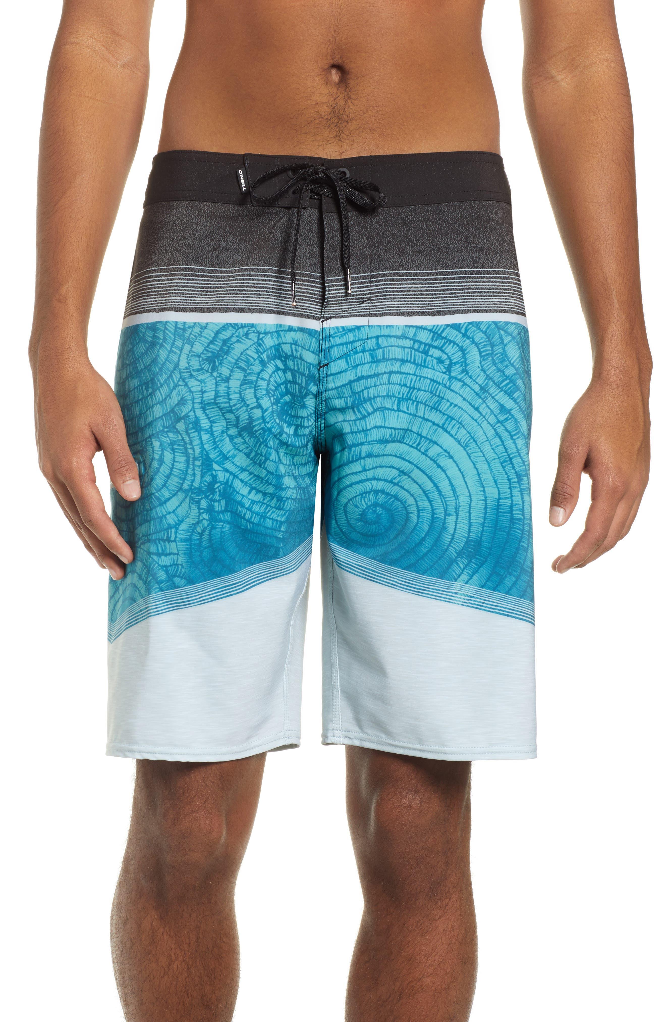 Hyperfreak Board Shorts,                             Main thumbnail 1, color,                             TURQUOISE