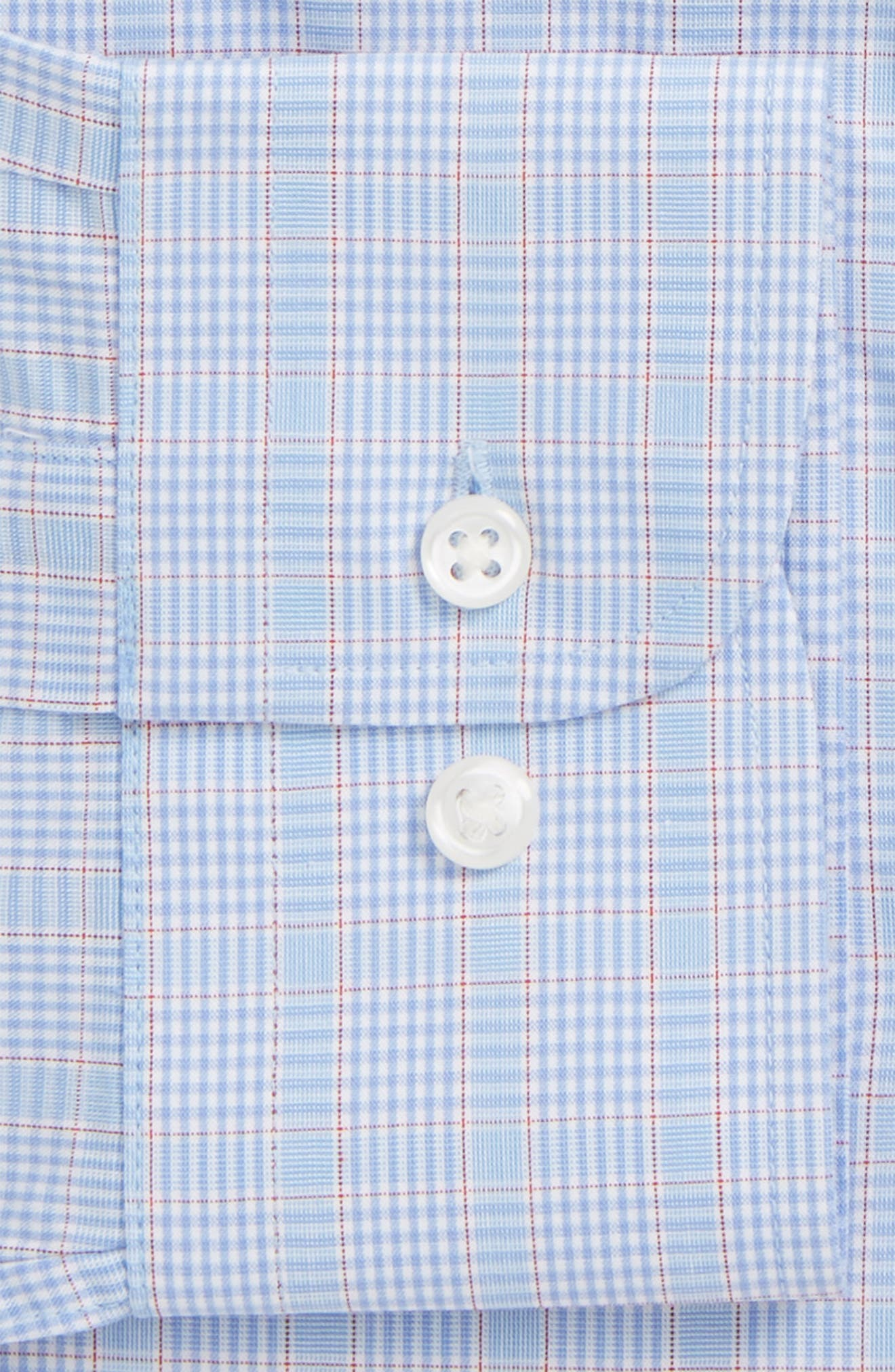 Tech-Smart Traditional Fit Stretch Plaid Dress Shirt,                             Alternate thumbnail 2, color,                             450
