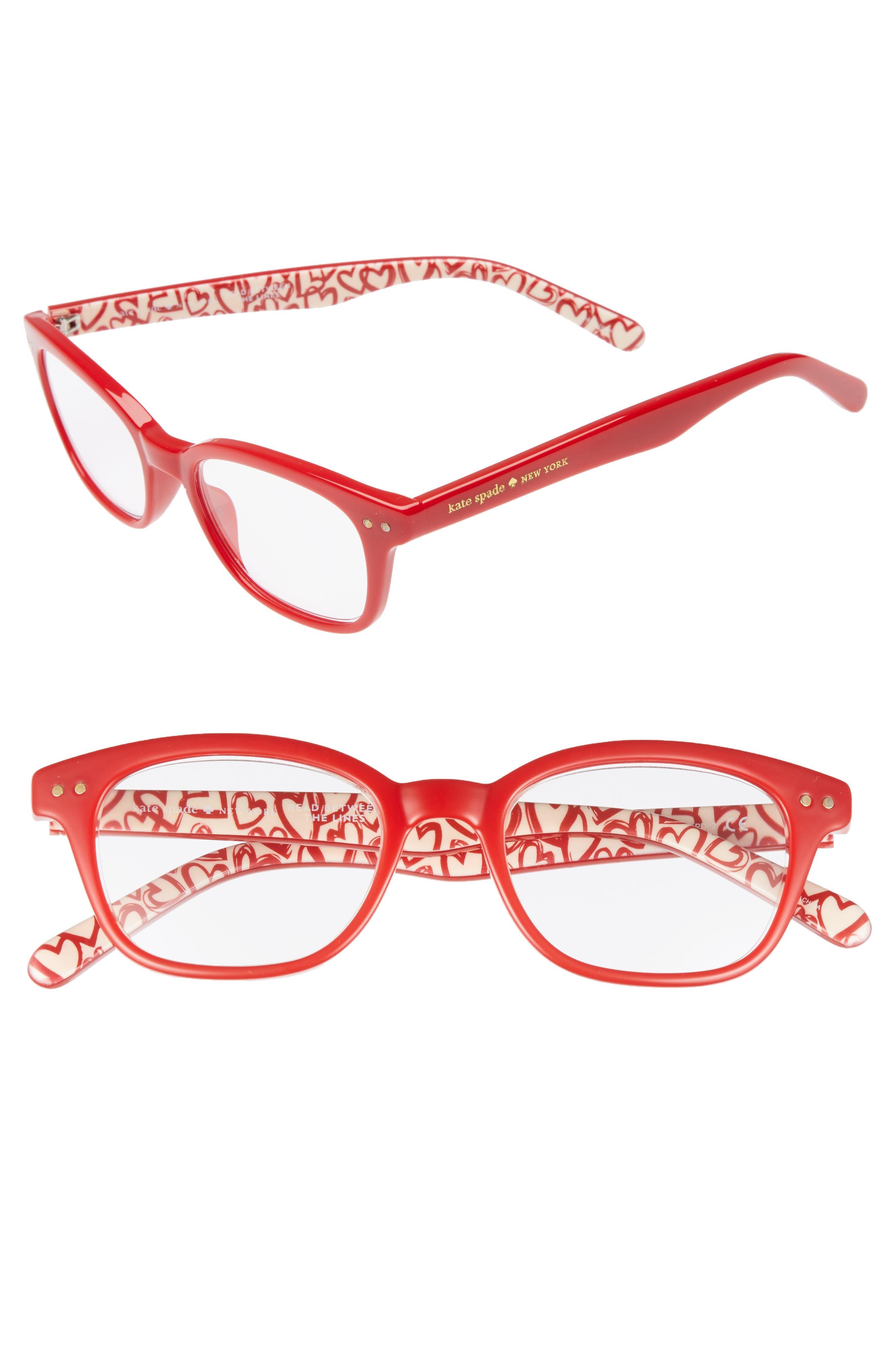 Rebecca 47Mm Reading Glasses - Red