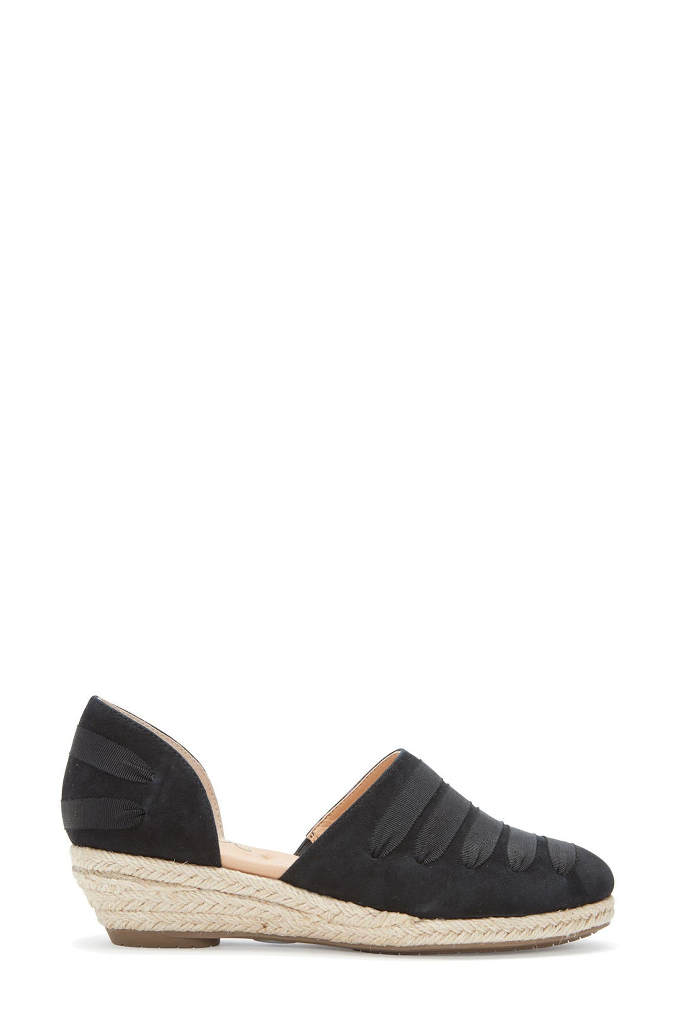 Netta Espadrille Wedge,                             Alternate thumbnail 3, color,                             014
