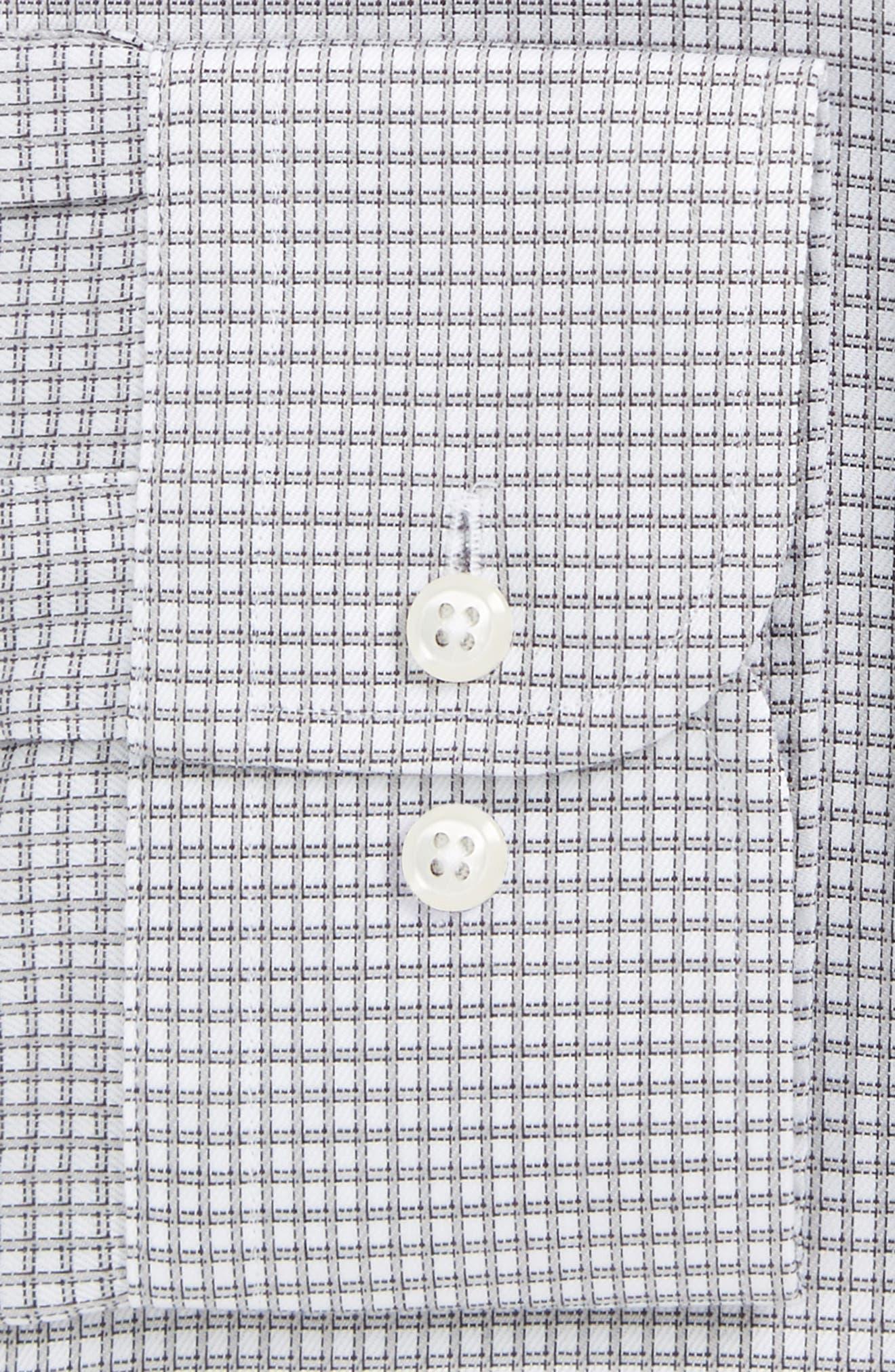 Smartcare<sup>™</sup> Trim Fit Check Dress Shirt,                             Main thumbnail 1, color,                             020