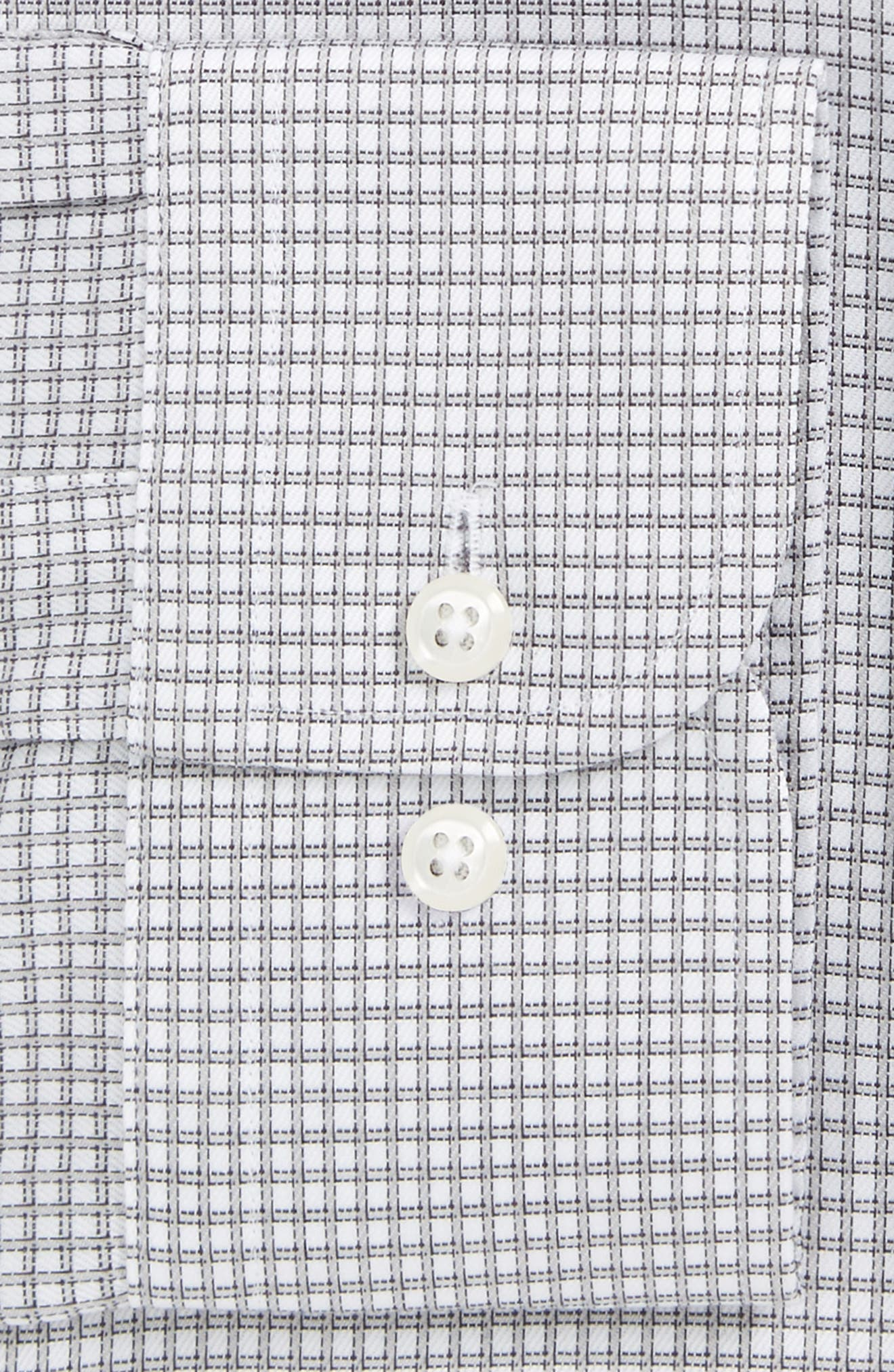 Smartcare<sup>™</sup> Trim Fit Check Dress Shirt,                         Main,                         color,