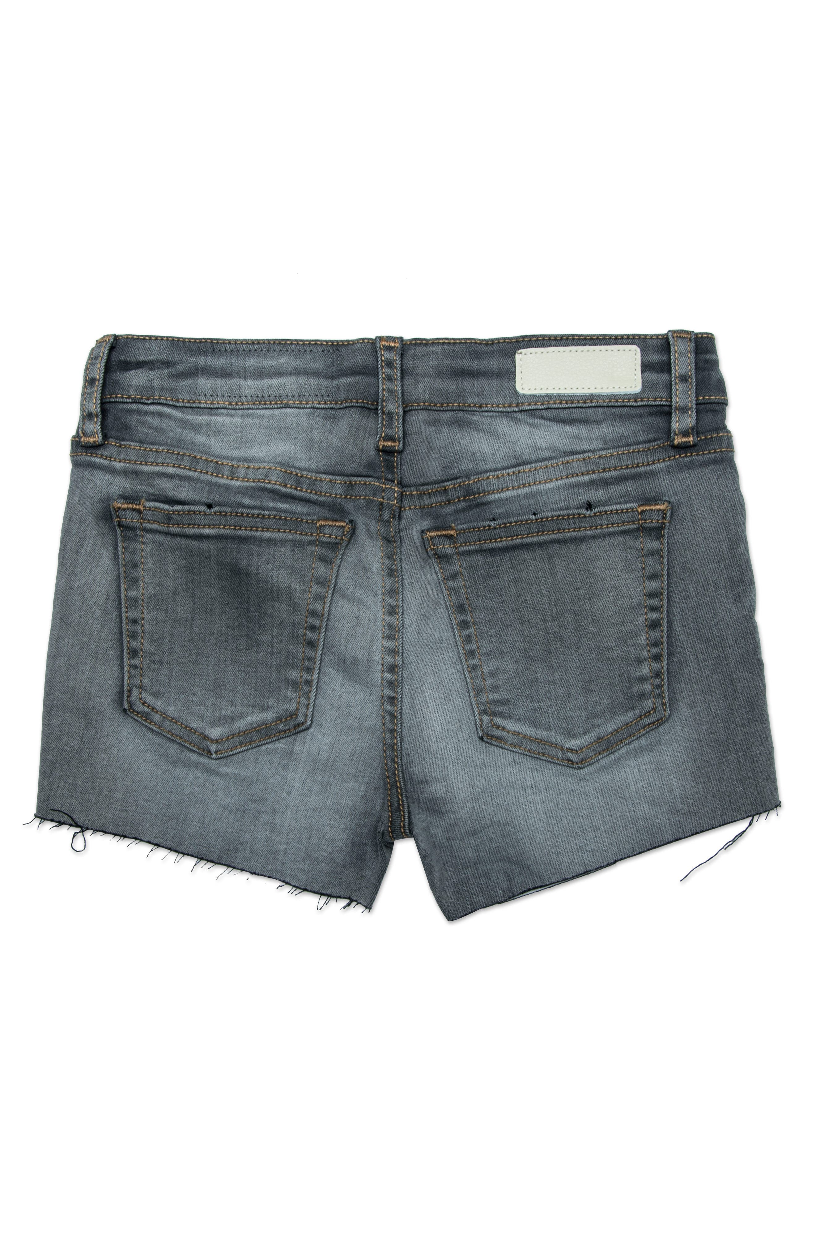 The Shelby Cutoff Shorts,                             Alternate thumbnail 2, color,                             GRAPHITE