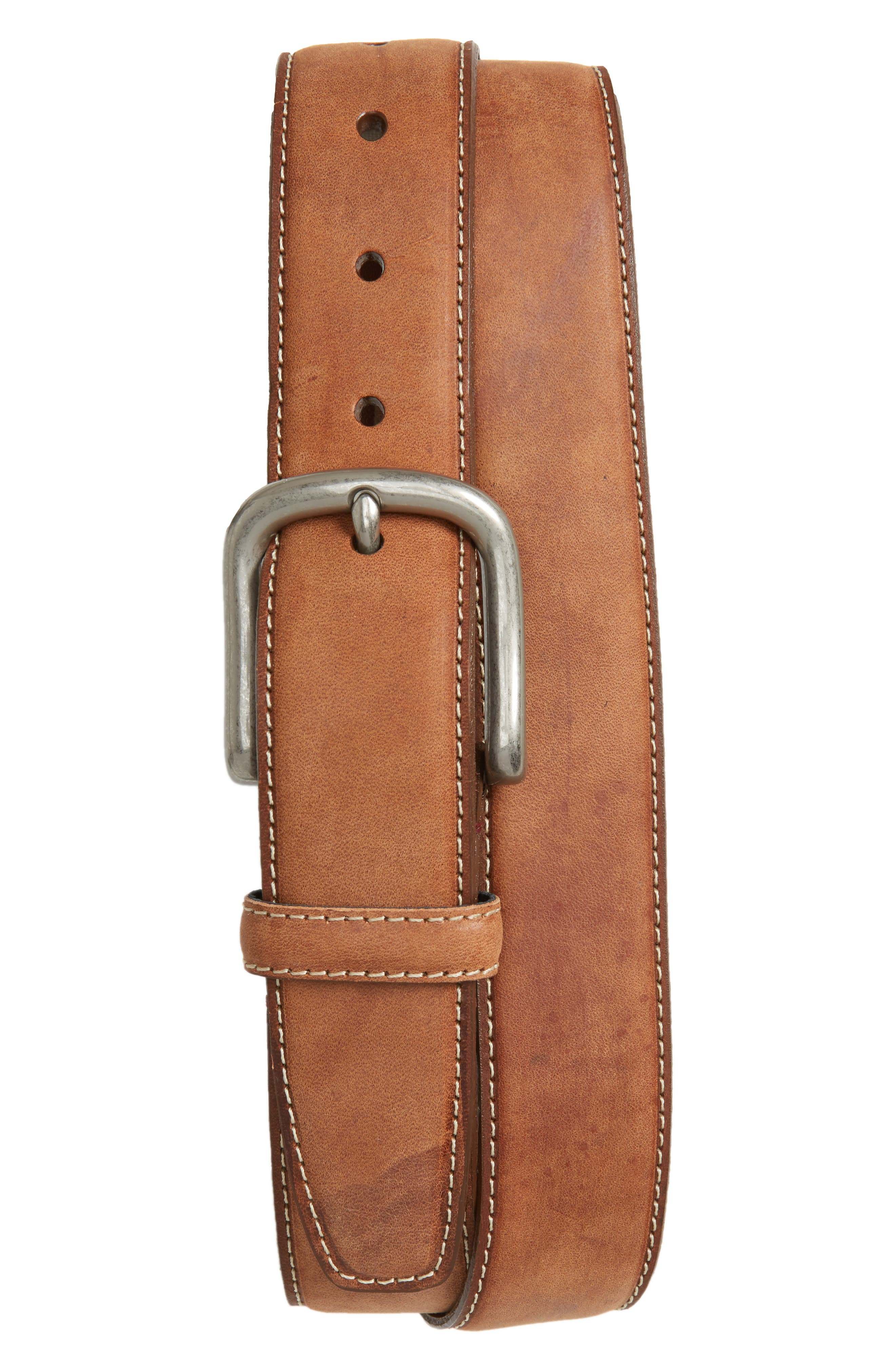 Waxed Nubuck Belt,                         Main,                         color, 231