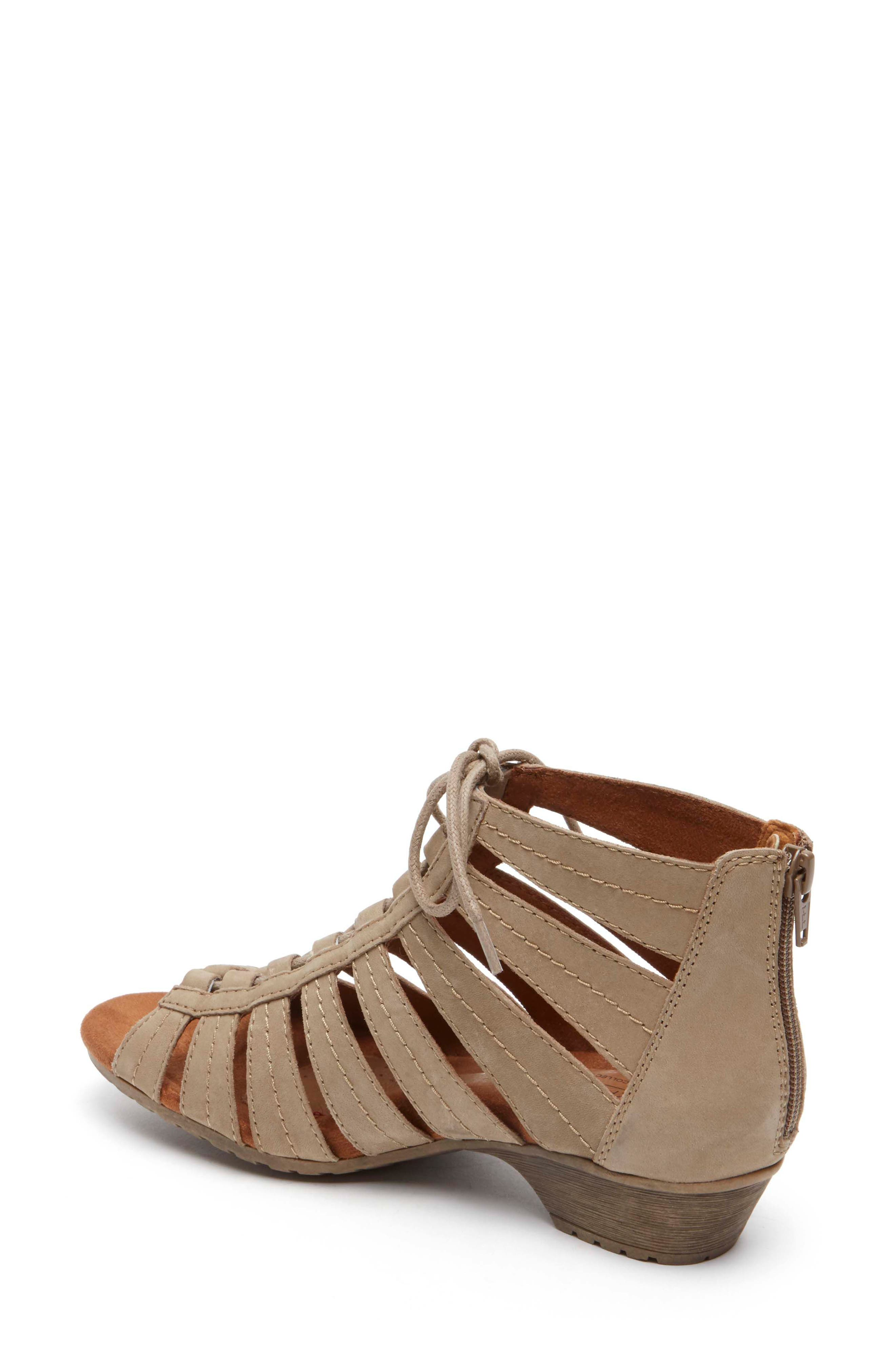 'Gabby' Lace-Up Sandal,                             Alternate thumbnail 9, color,