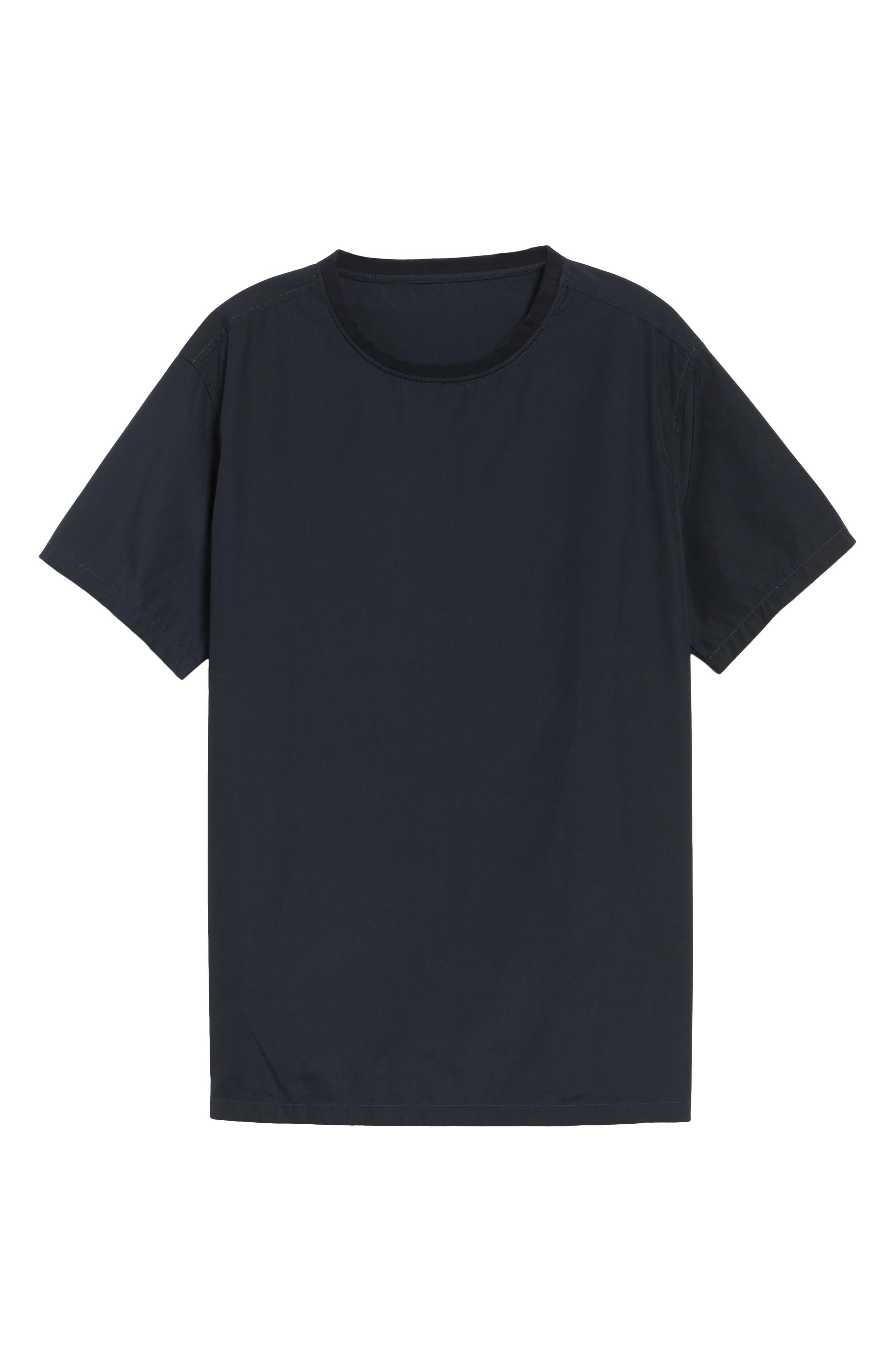 Woven T-Shirt,                             Alternate thumbnail 6, color,                             001