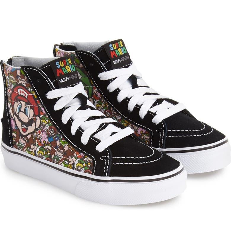65c480f757a5a9 Vans x Nintendo  Super Mario Bros. Sk8-Hi  Zip High Top Sneaker ...