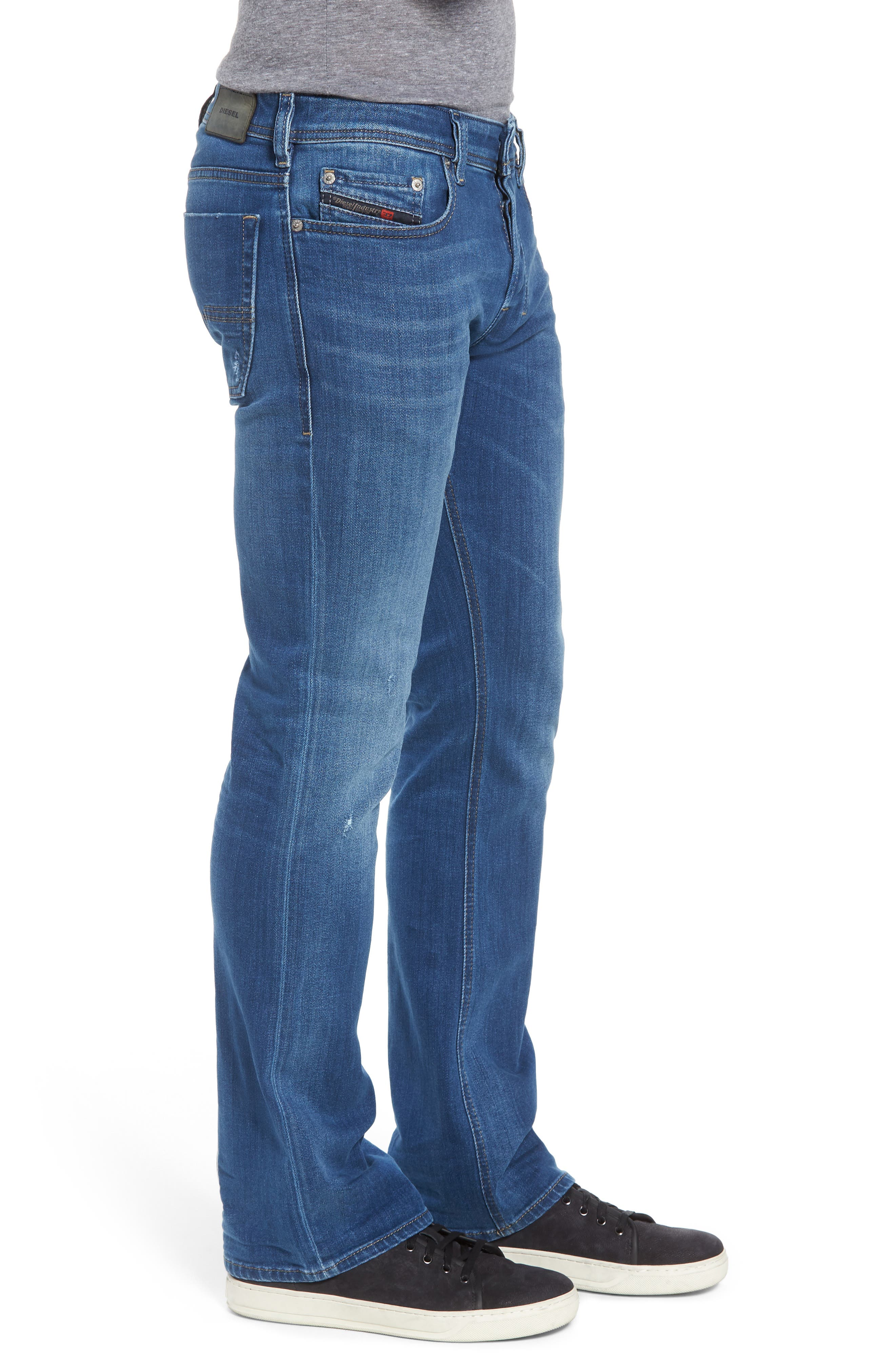 Zatiny Bootcut Jeans,                             Alternate thumbnail 3, color,