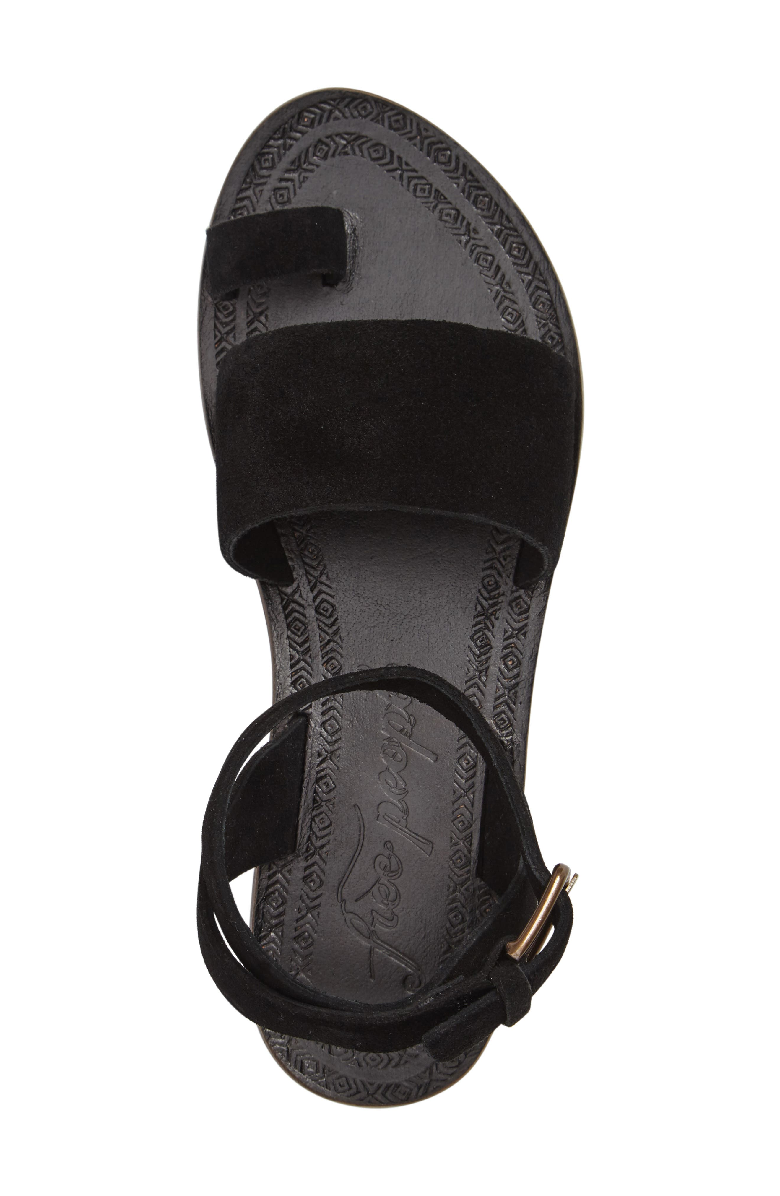 Torrence Ankle Wrap Sandal,                             Alternate thumbnail 3, color,                             001