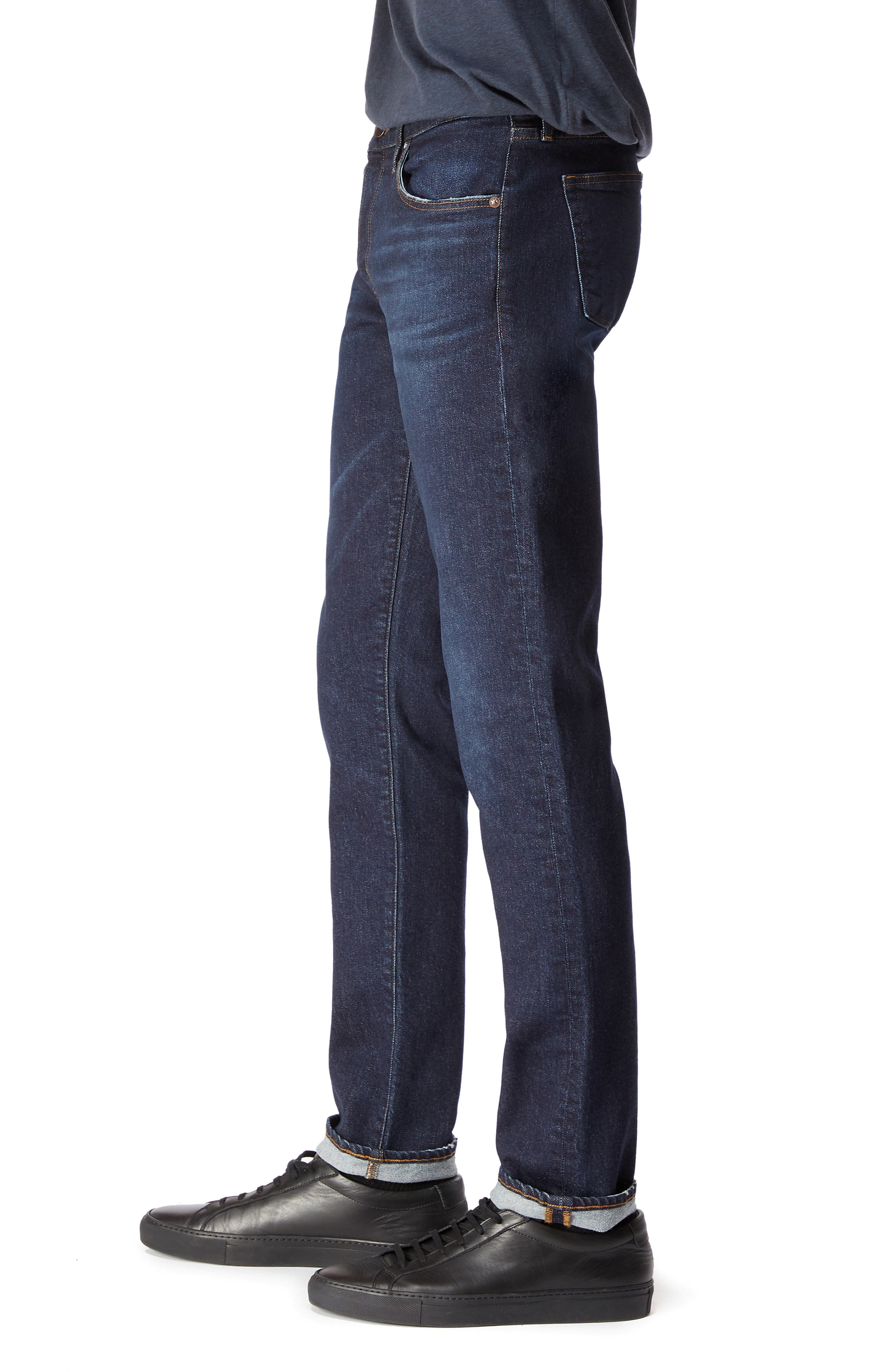 Tyler Slim Fit Jeans,                             Alternate thumbnail 3, color,                             DARK DIFFUSION