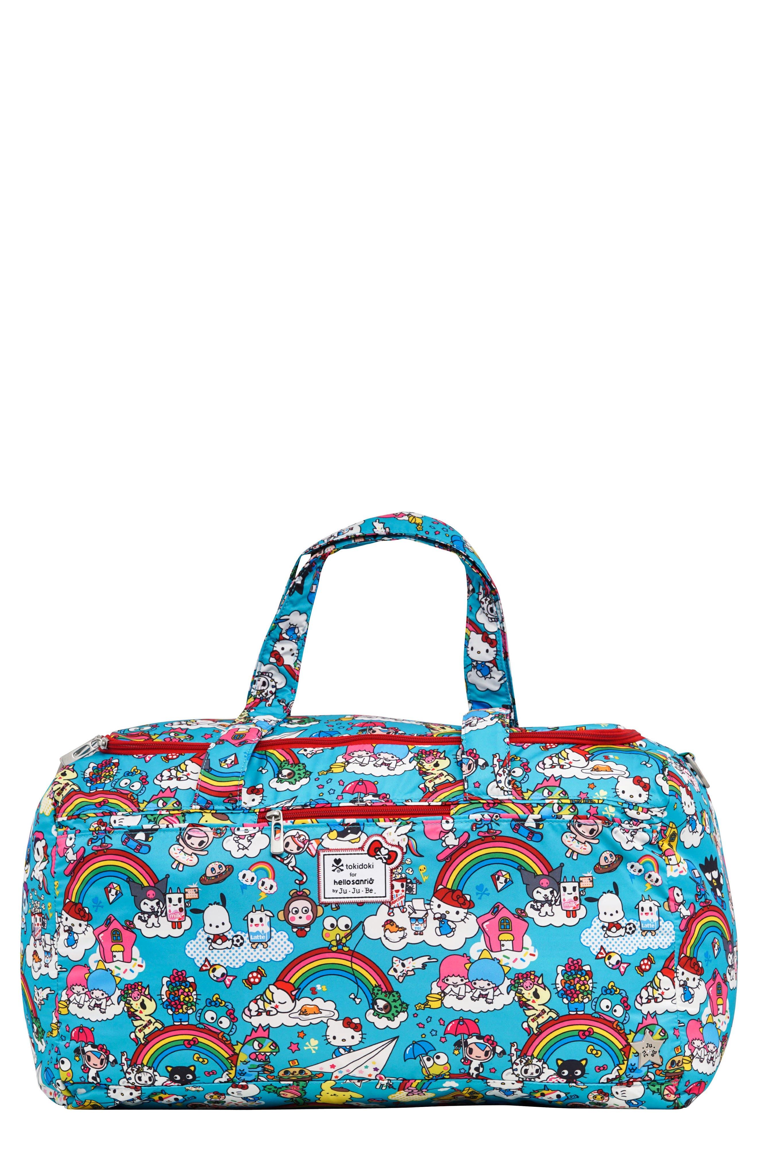 x tokidoki for Hello Sanrio Rainbow Dreams Super Star Diaper Bag,                         Main,                         color, 433
