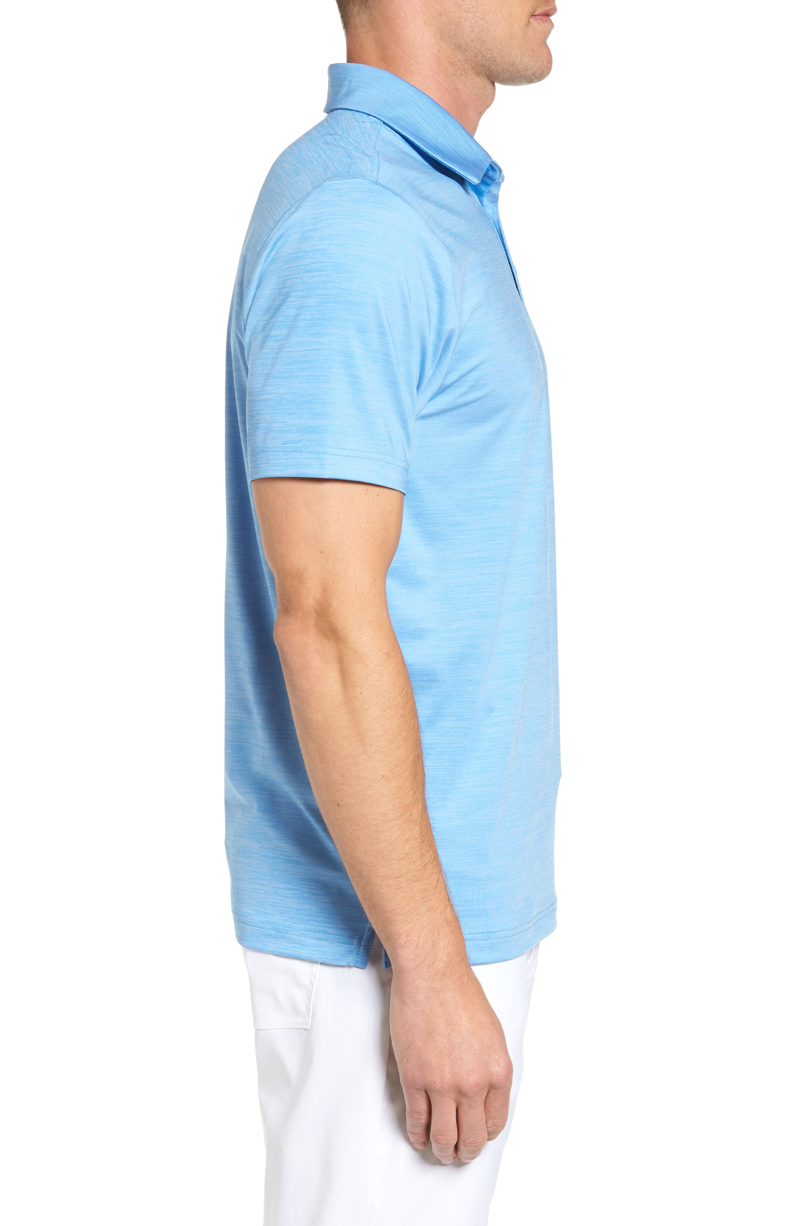 'Playoff' Loose Fit Short Sleeve Polo,                             Alternate thumbnail 156, color,