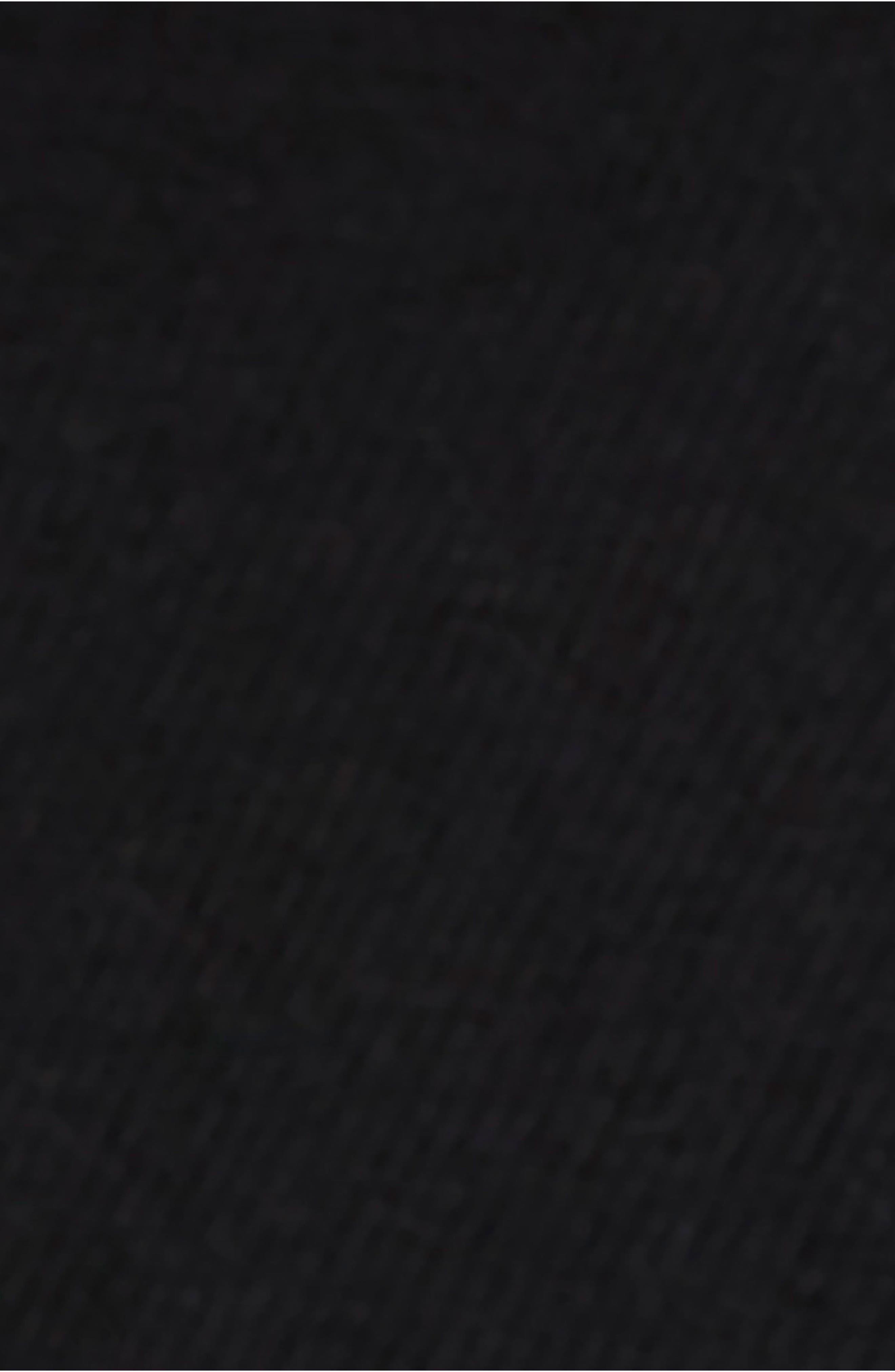Needle & Thread Merino Wool Sweater,                             Alternate thumbnail 5, color,                             BLACK