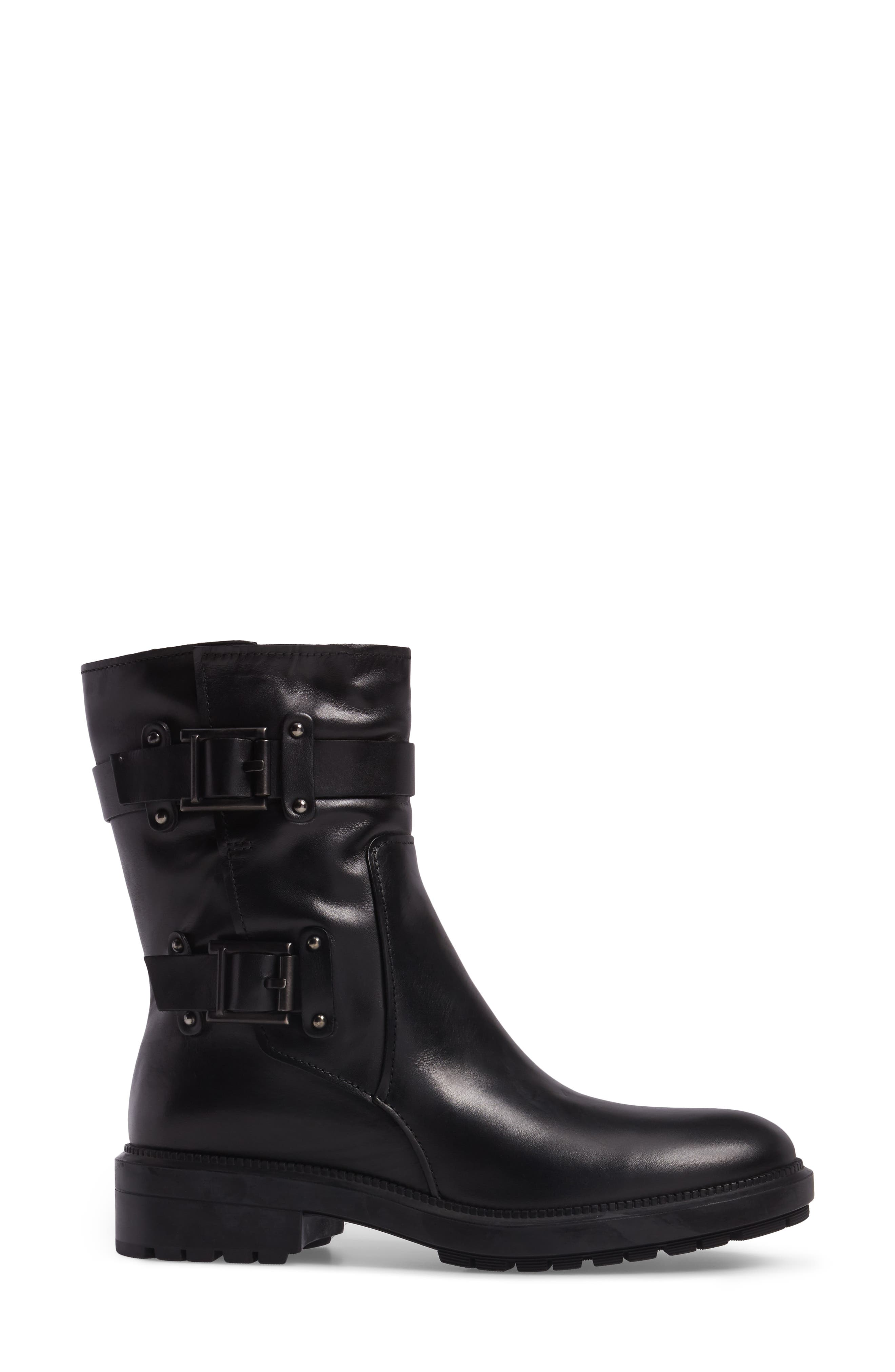 Leonie Weatherproof Leather Boot,                             Alternate thumbnail 3, color,