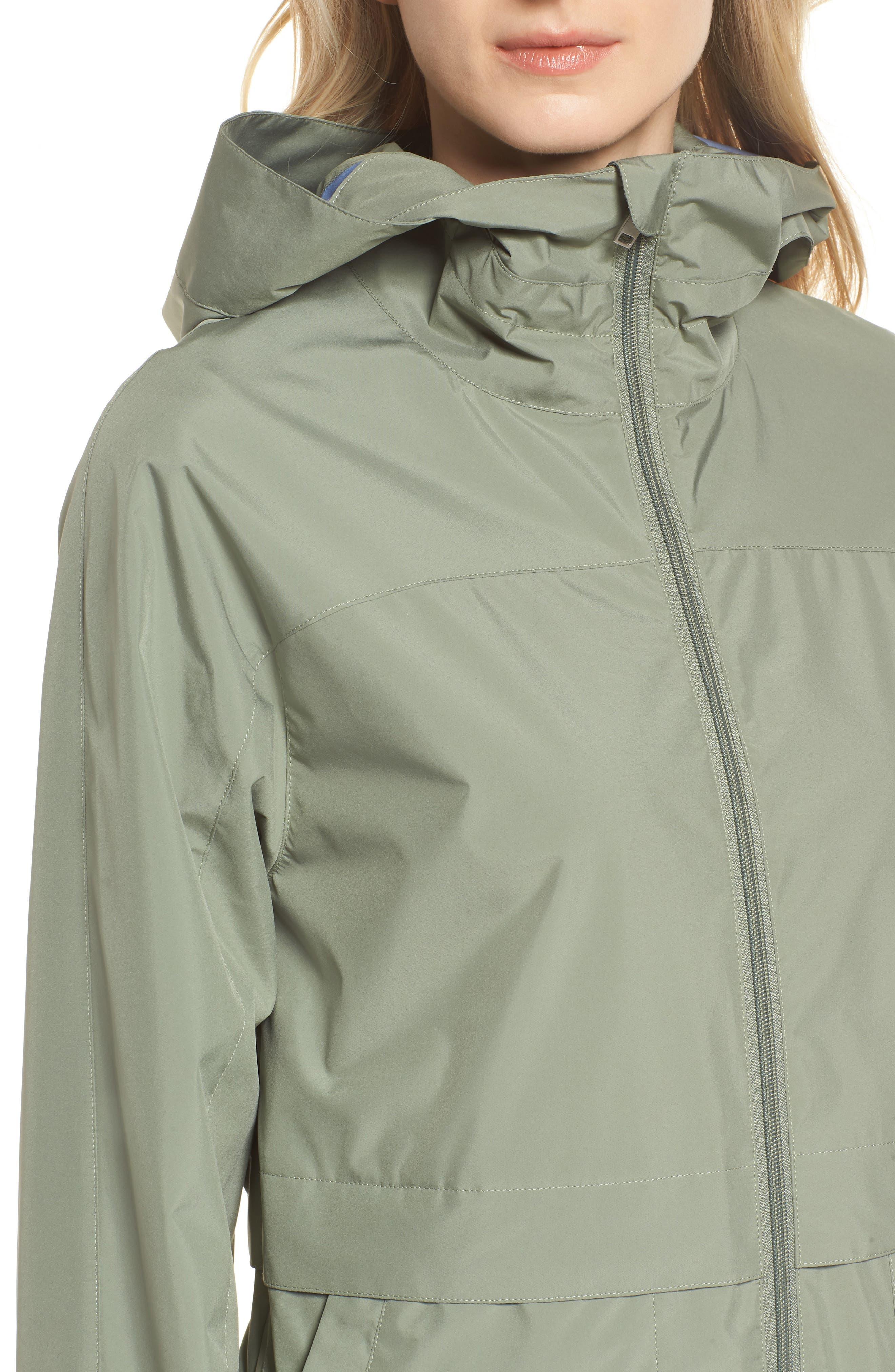 Pearl Cloth Hooded Jacket,                             Alternate thumbnail 9, color,