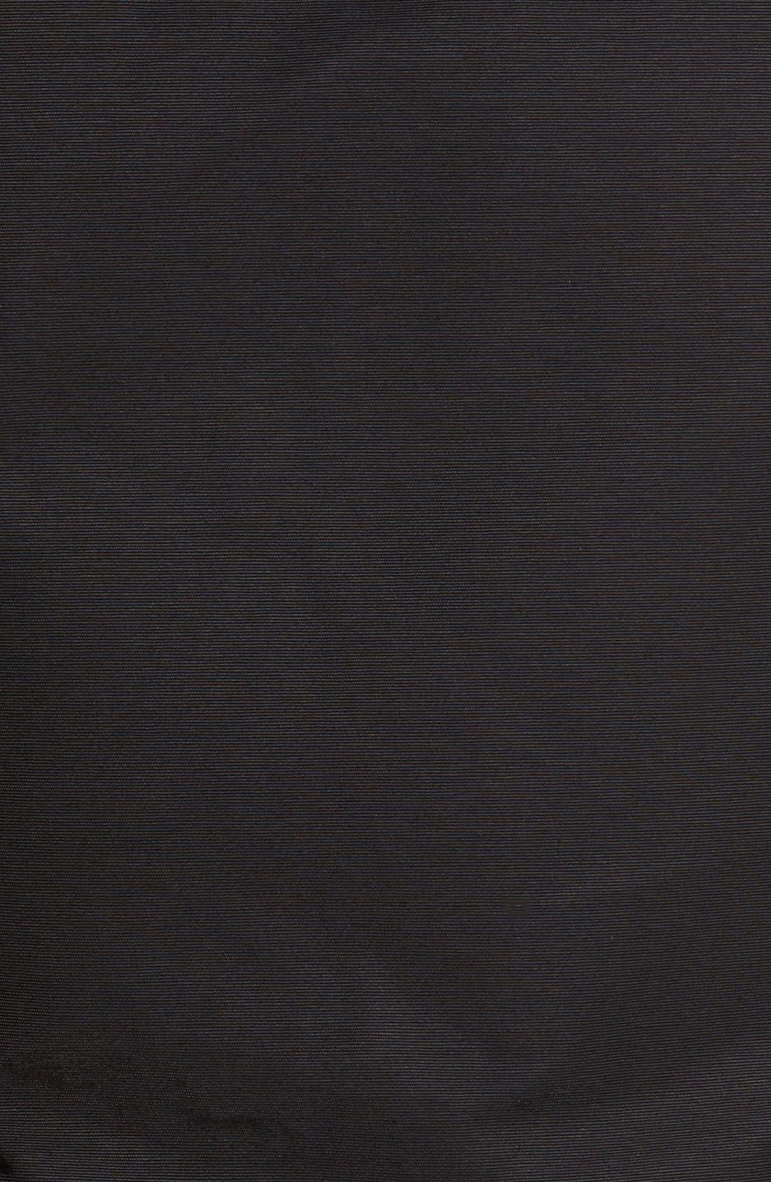 Stirling Water Repellent Down Parka with Genuine Fox Fur Trim,                             Alternate thumbnail 3, color,                             BLACK/ BLACK FUR