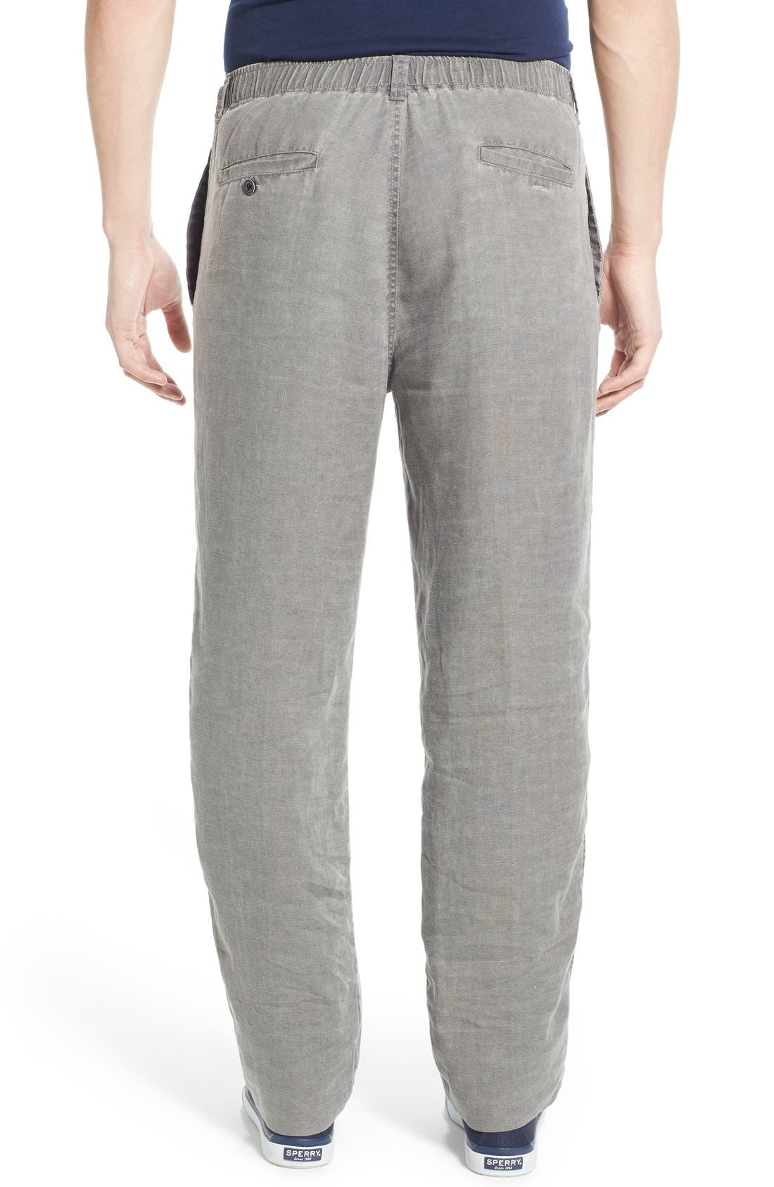 'New Linen on the Beach' Easy Fit Pants,                             Alternate thumbnail 11, color,