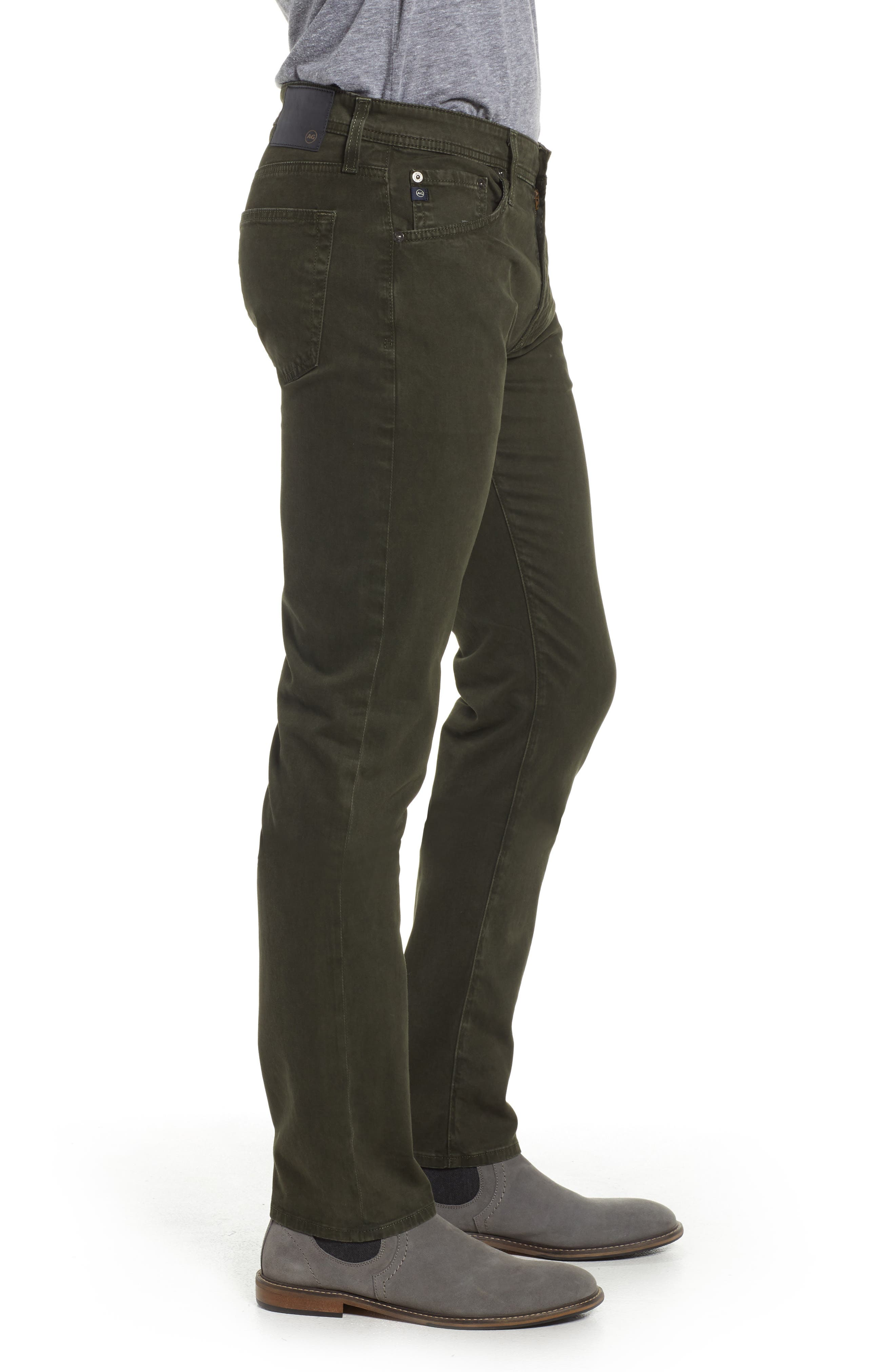 Tellis SUD Modern Slim Stretch Twill Pants,                             Alternate thumbnail 3, color,                             320