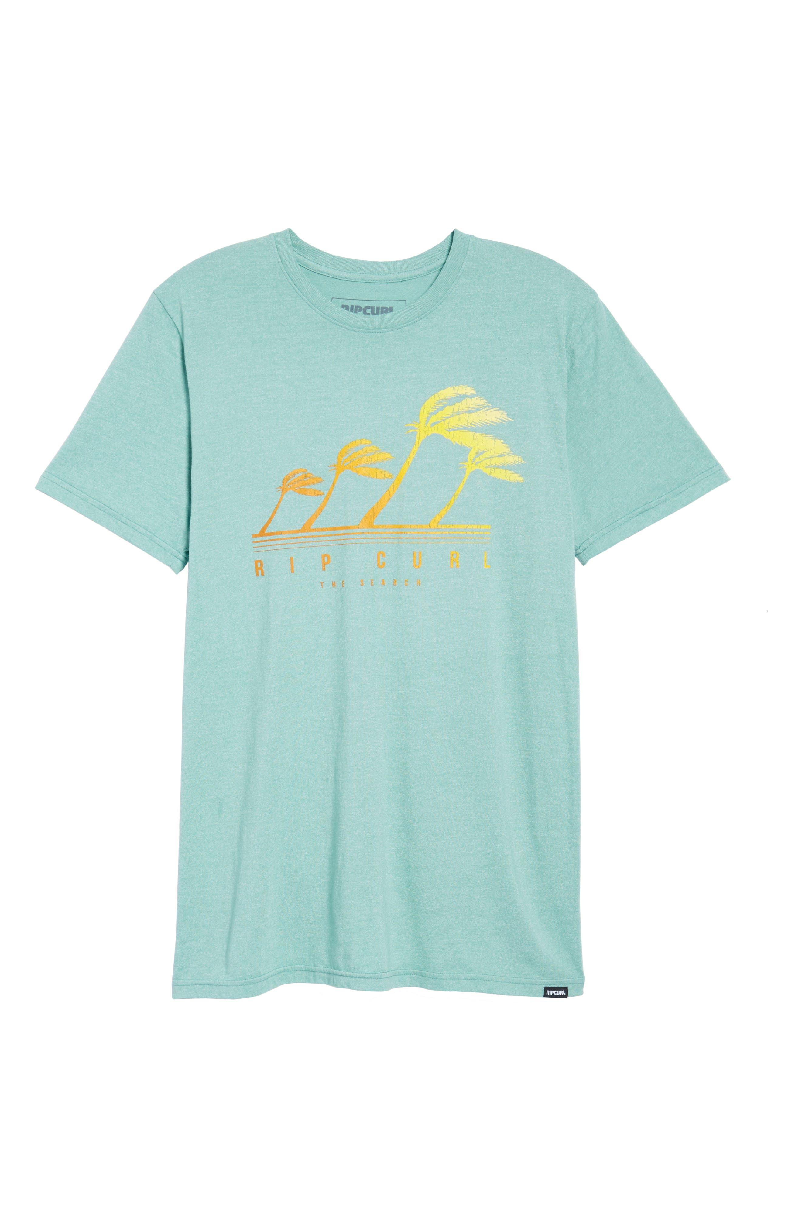 Accelerate Mock Twist T-Shirt,                             Alternate thumbnail 6, color,                             GREEN