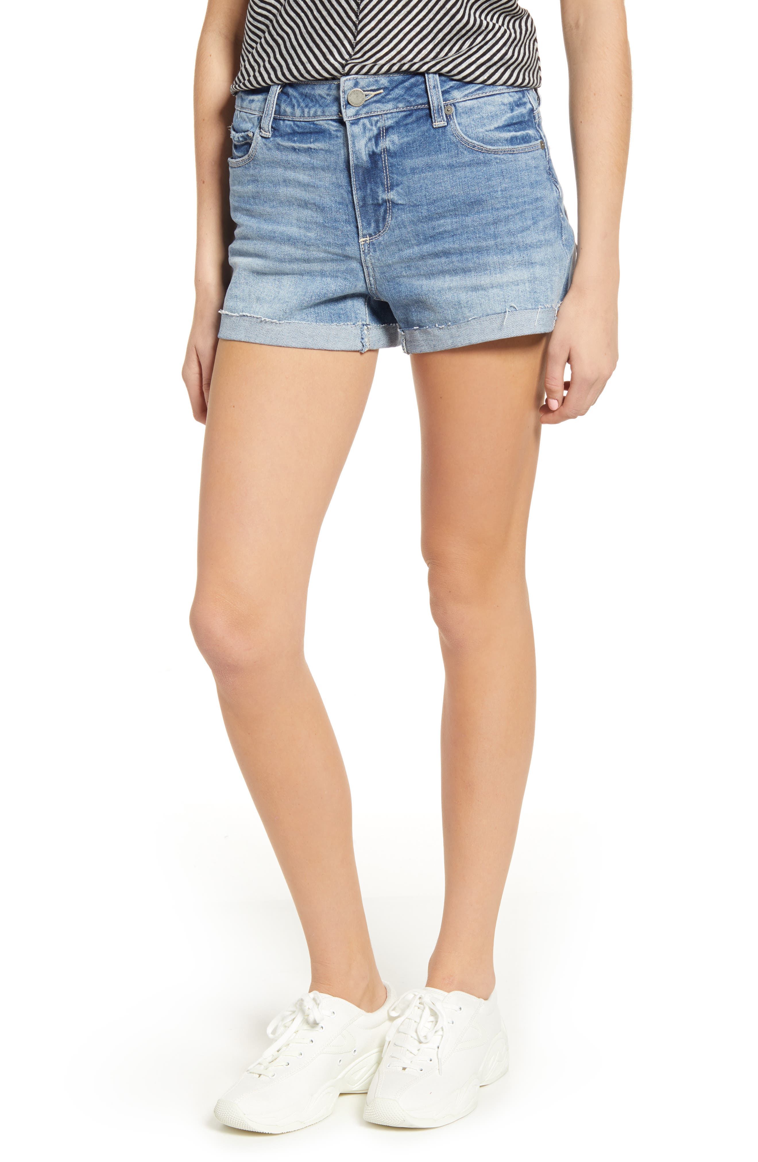 Women's Paige Vintage - Jimmy Jimmy Cutoff Denim Shorts