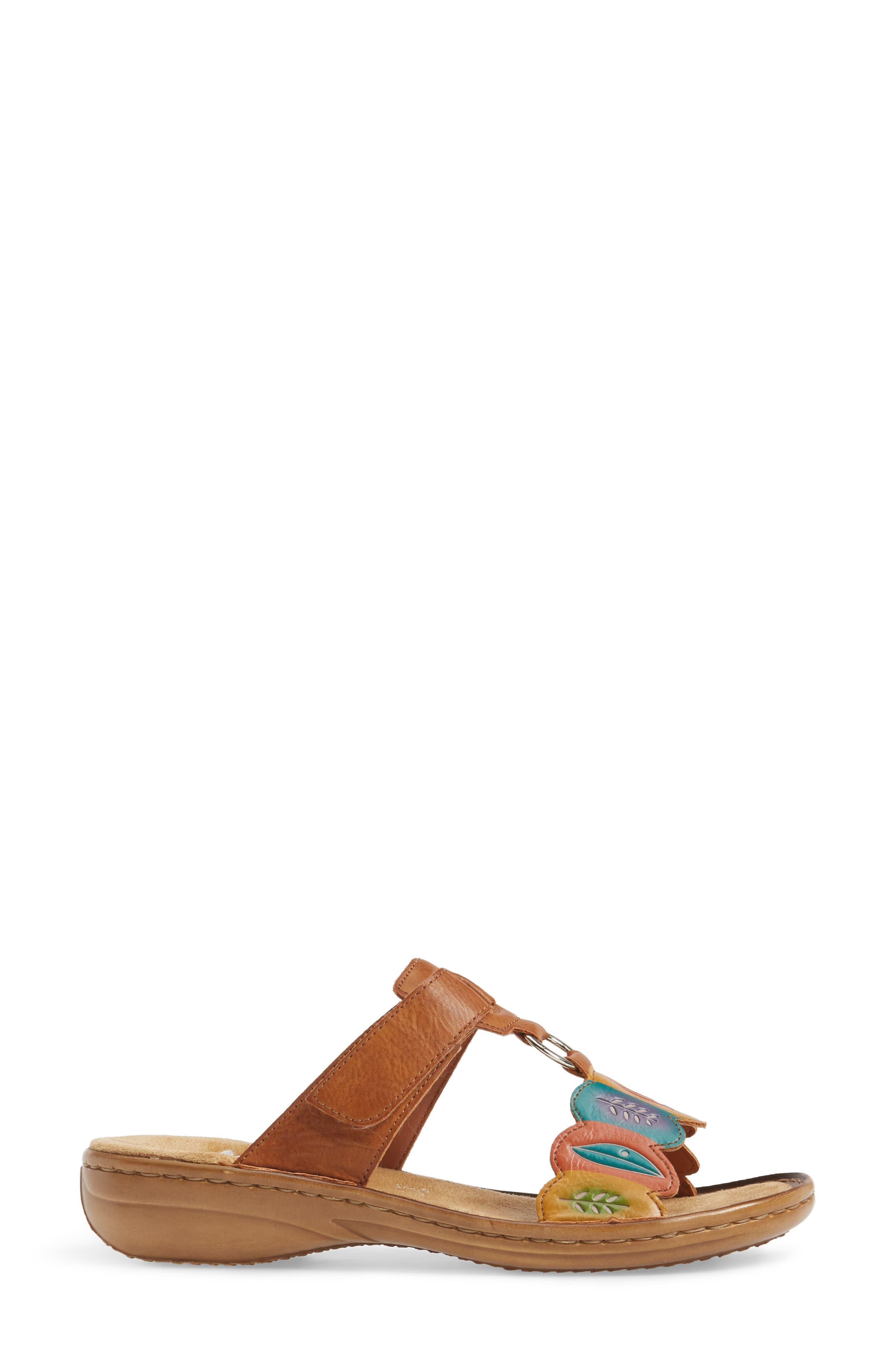 Regina R4 Slide Sandal,                             Alternate thumbnail 3, color,                             219