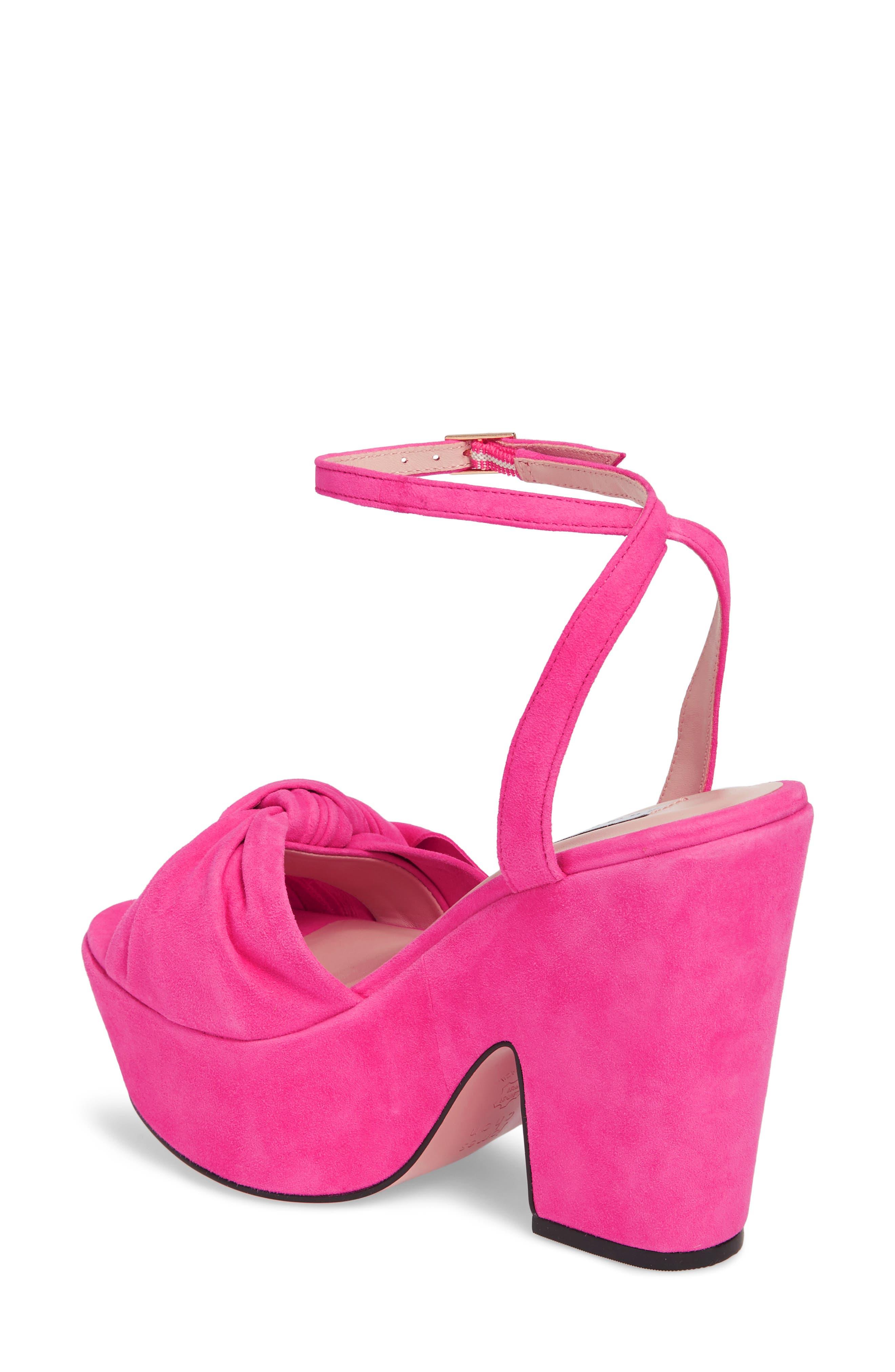 Pinky Platform Sandal,                             Alternate thumbnail 7, color,