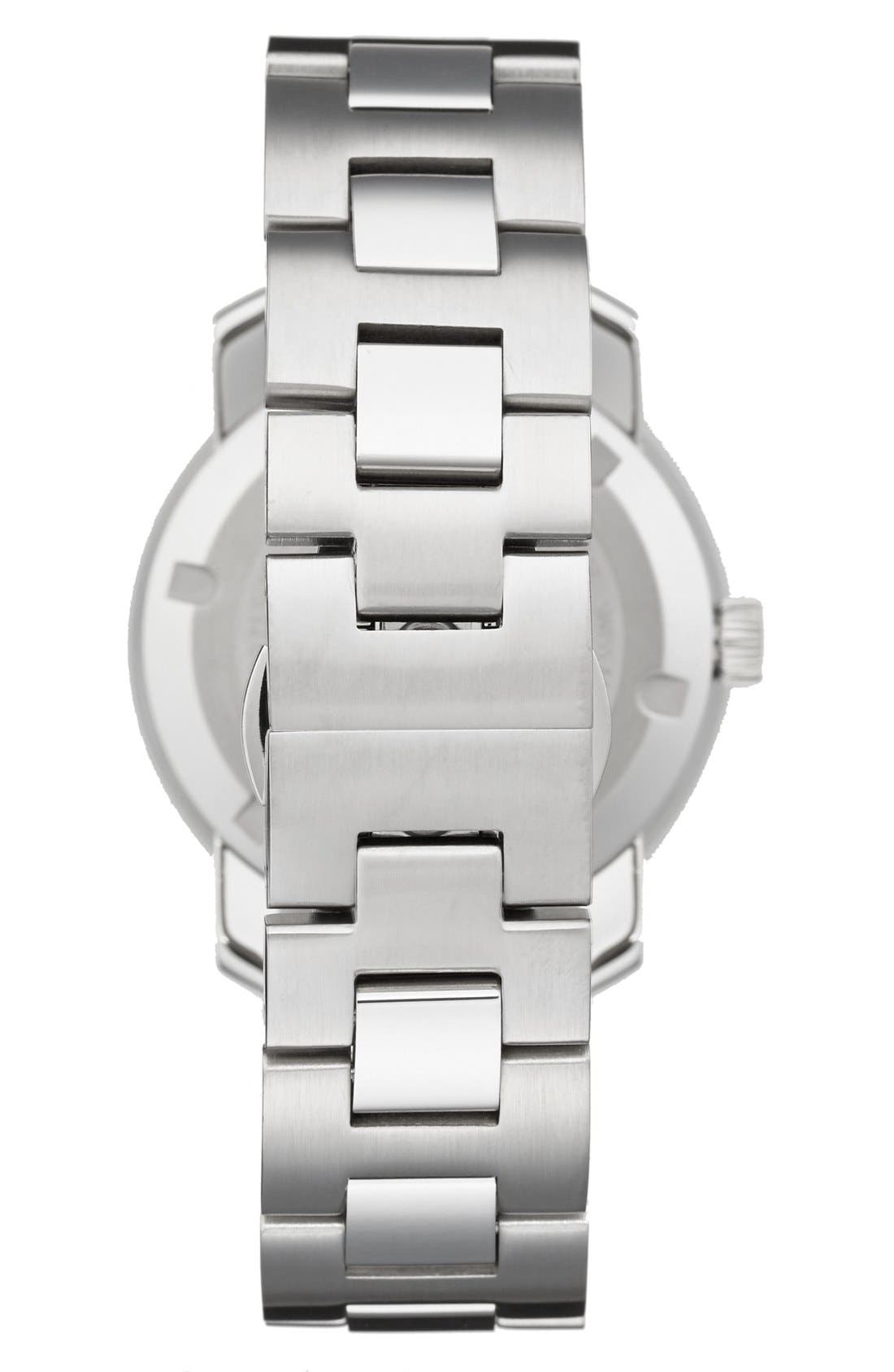 'Bold' Round Bracelet Watch, 36mm,                             Alternate thumbnail 9, color,