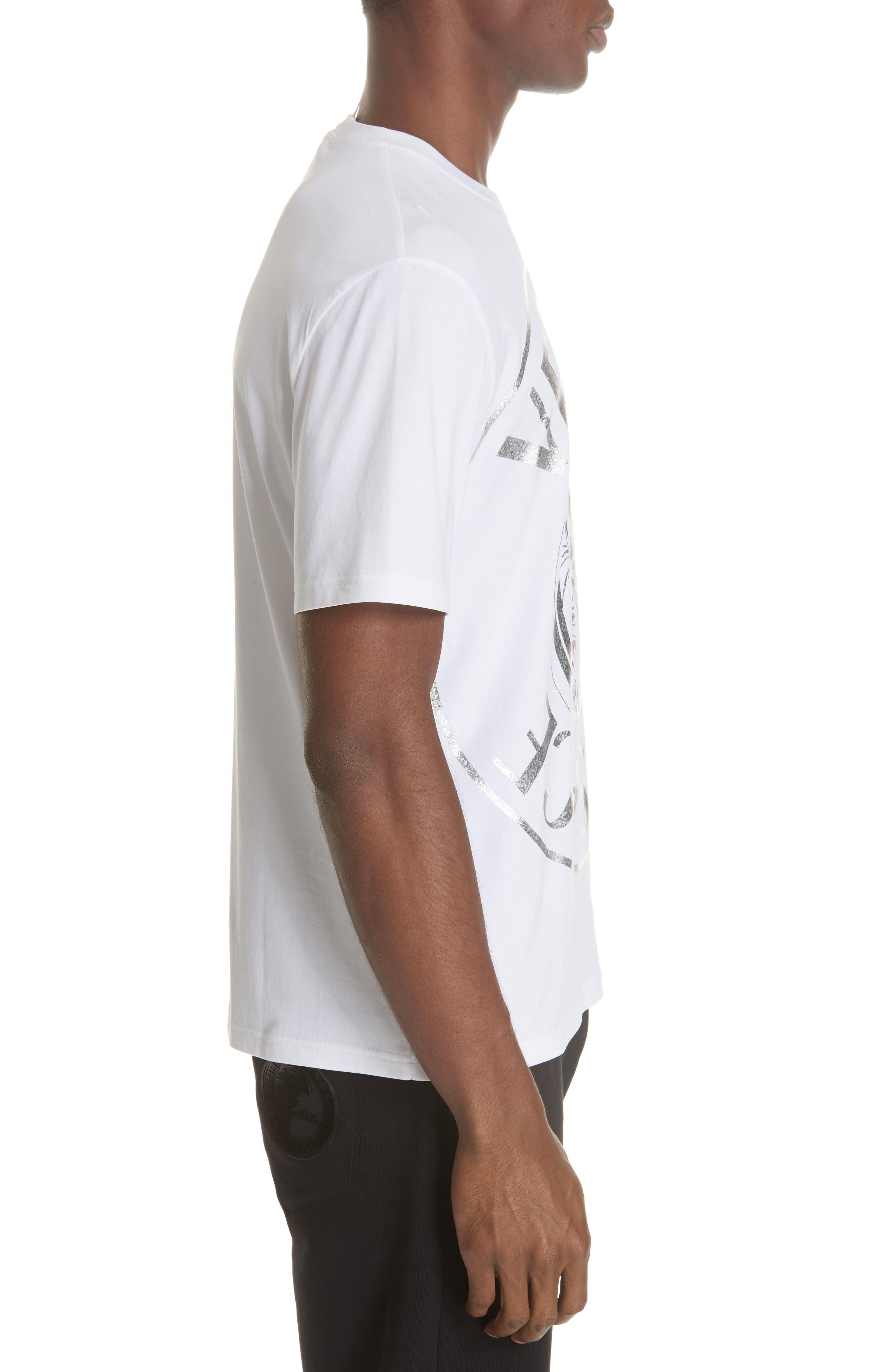 Foil T-Shirt,                             Alternate thumbnail 3, color,                             WHITE