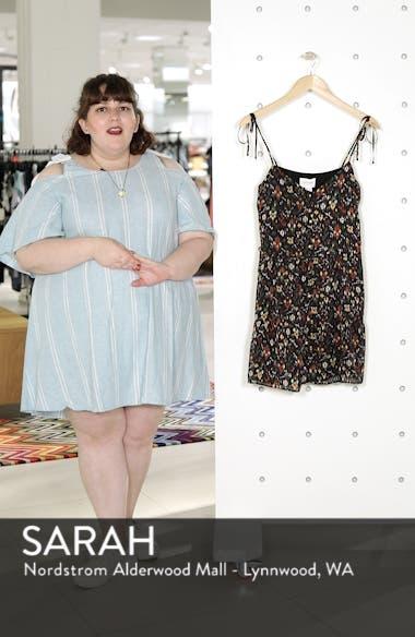 Felicie Floral Tie Strap Dress, sales video thumbnail