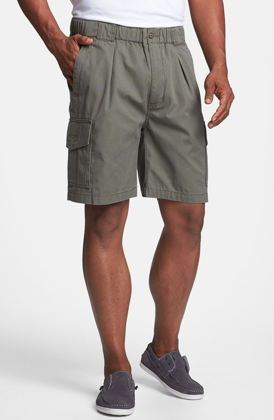 Relax 'Survivor' Cargo Shorts,                             Main thumbnail 1, color,                             MOSS