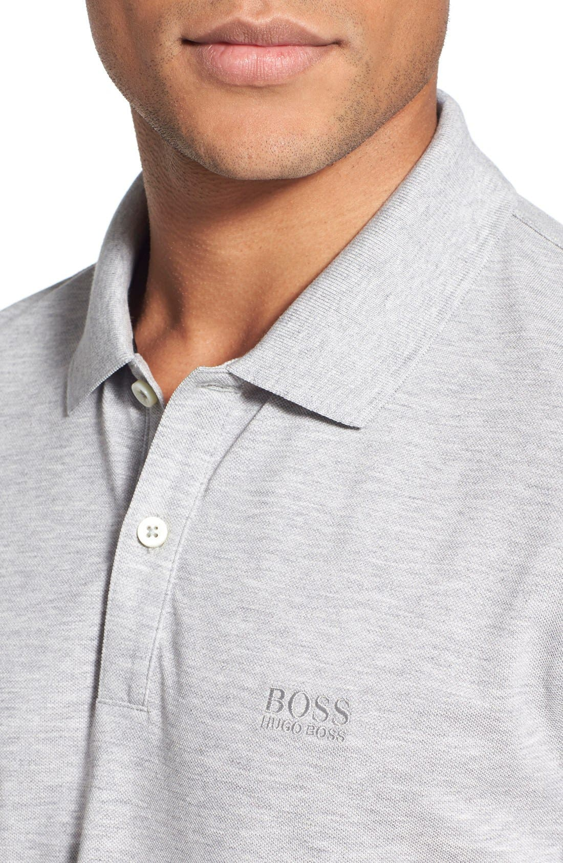 'Pallas' Regular Fit Logo Embroidered Polo Shirt,                             Alternate thumbnail 56, color,
