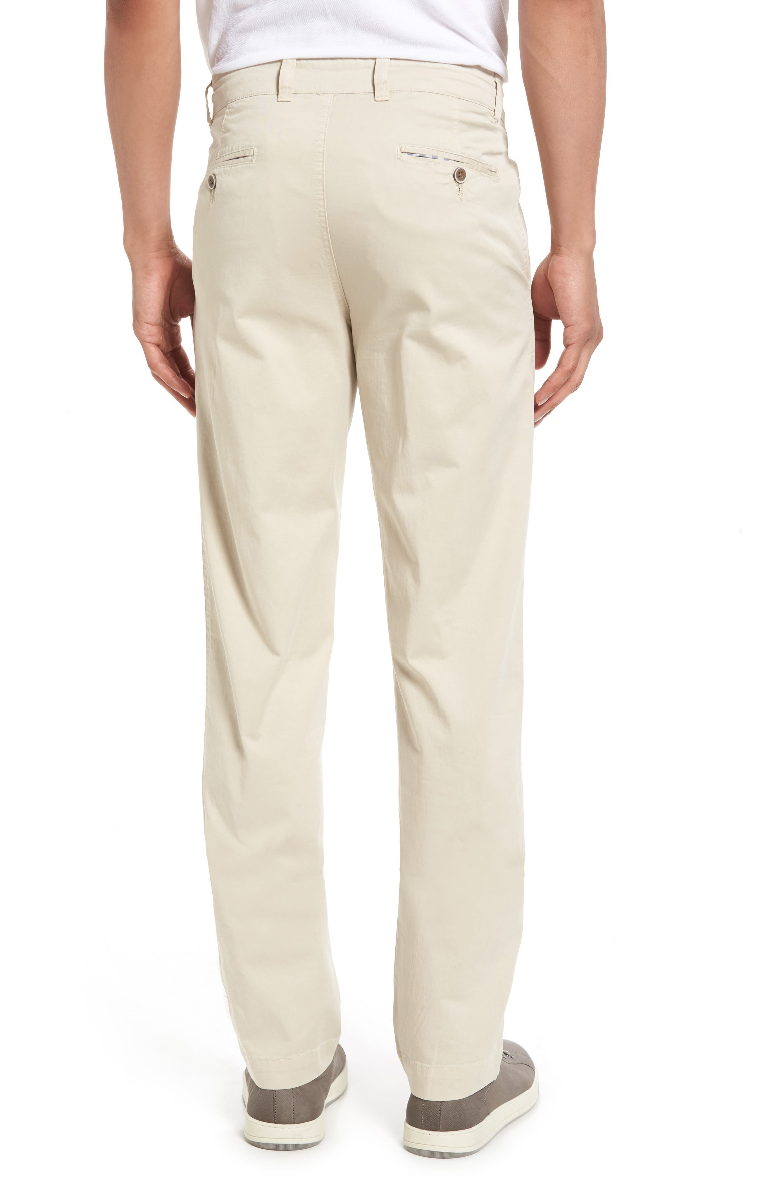 Sunny Modern Fit Stretch Twill Chinos,                             Alternate thumbnail 2, color,                             STONE