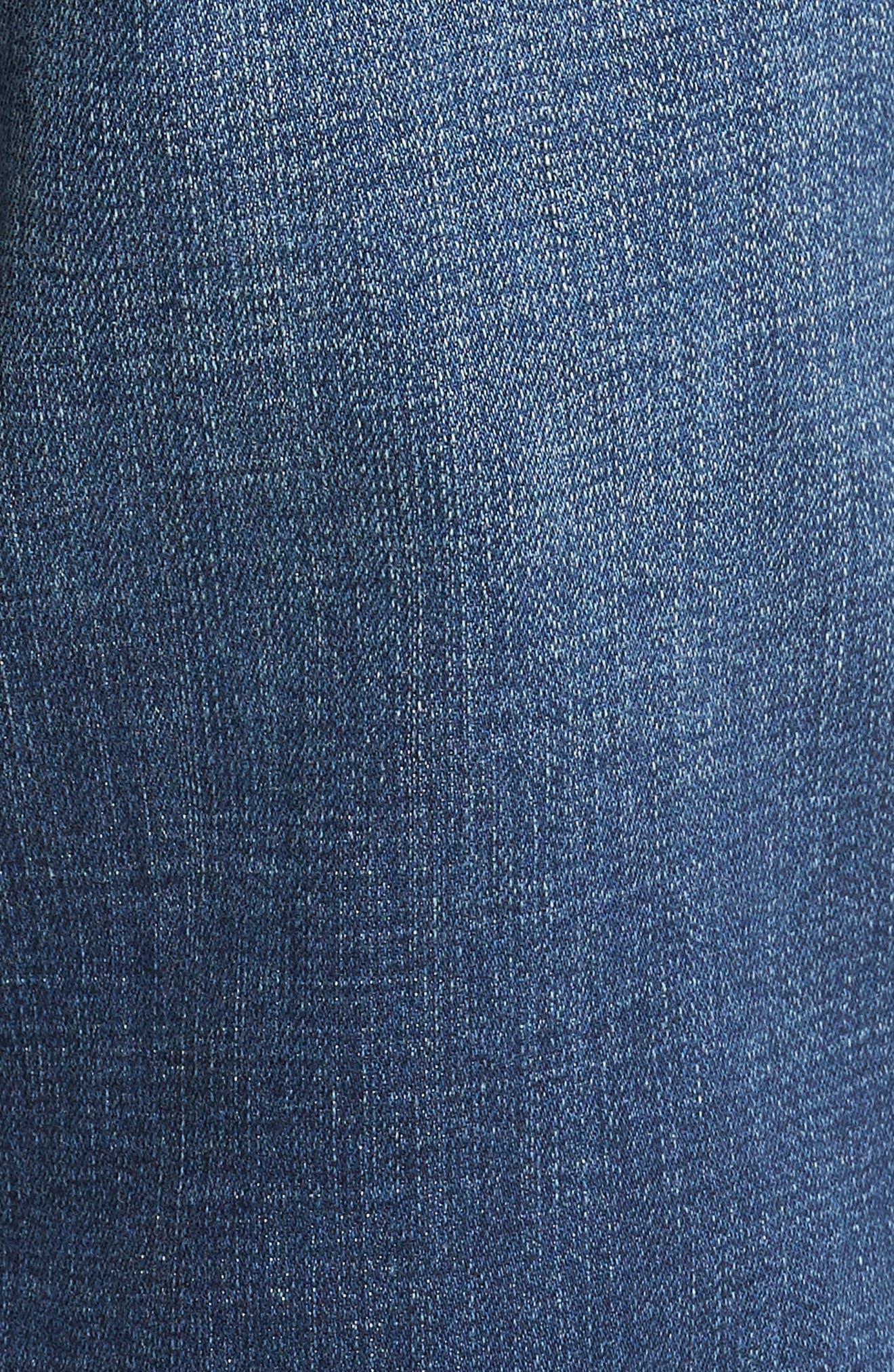 Jeans Co. Kingston Slim Straight Leg Jeans,                             Alternate thumbnail 5, color,                             HIGHLANDER MID