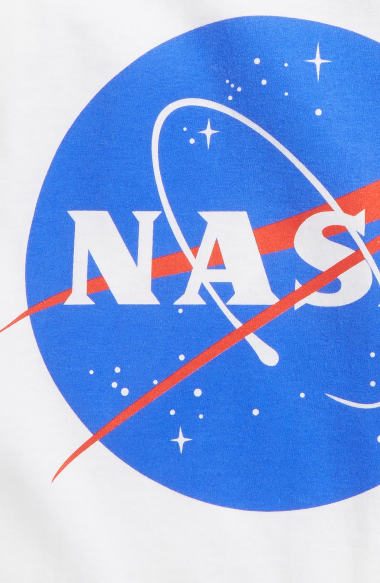 MIGHTY FINE,                             NASA T-Shirt,                             Alternate thumbnail 2, color,                             100