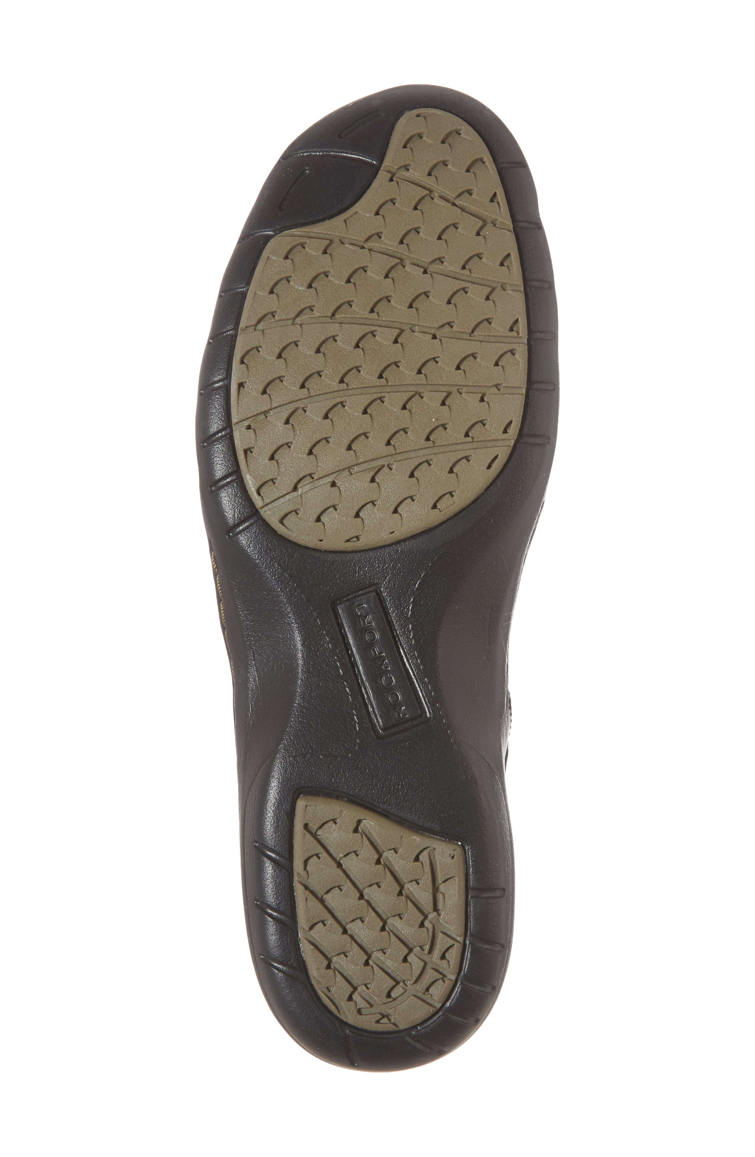 Penefield T-Strap Sandal,                             Alternate thumbnail 6, color,                             BLACK LEATHER