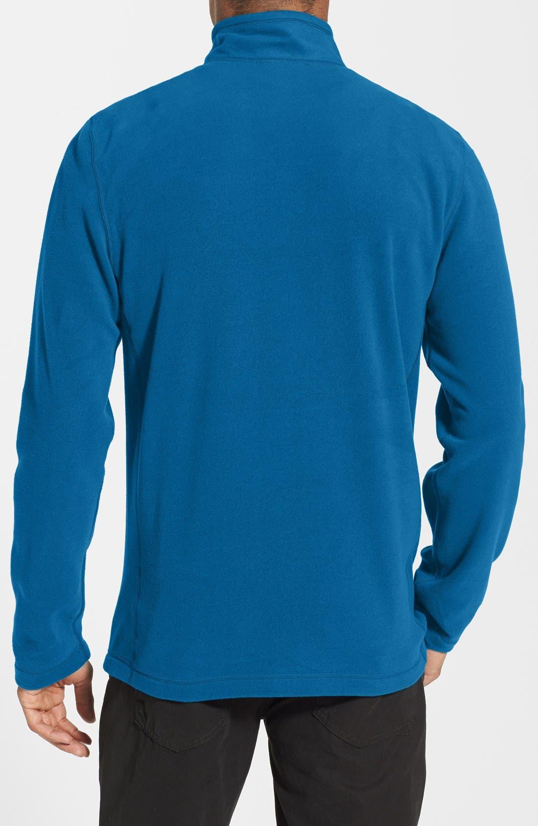 'TKA 100 Glacier' Quarter Zip Fleece Pullover,                             Alternate thumbnail 53, color,
