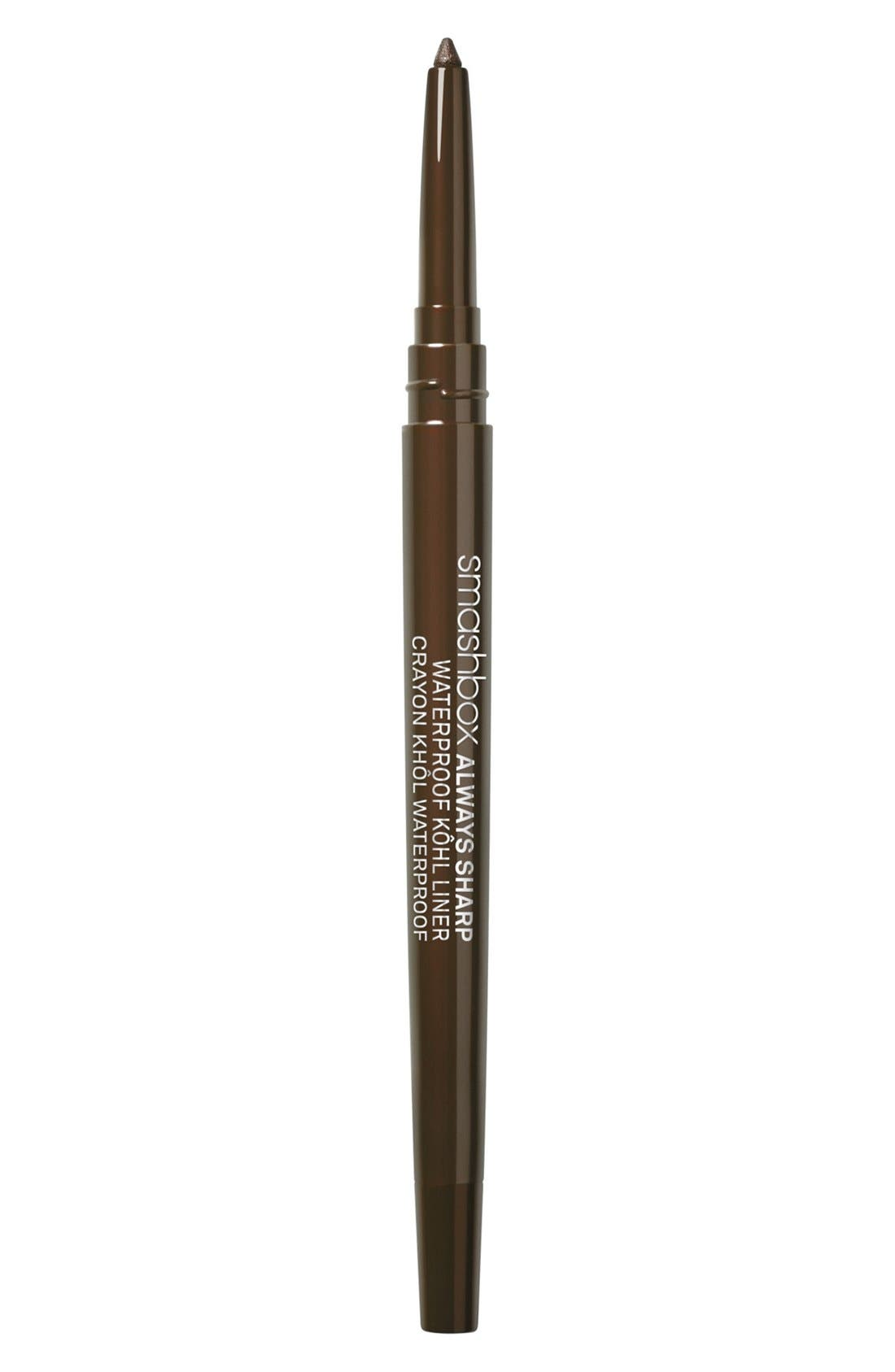 Always Sharp Waterproof Kôhl Liner,                             Main thumbnail 1, color,                             SUMATRA