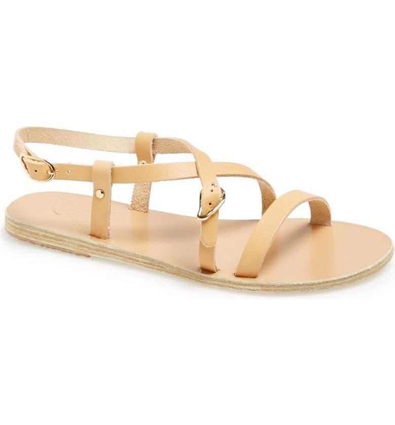 3d55dc3b63e Ancient Greek Sandals  Sofia  Leather Sandal