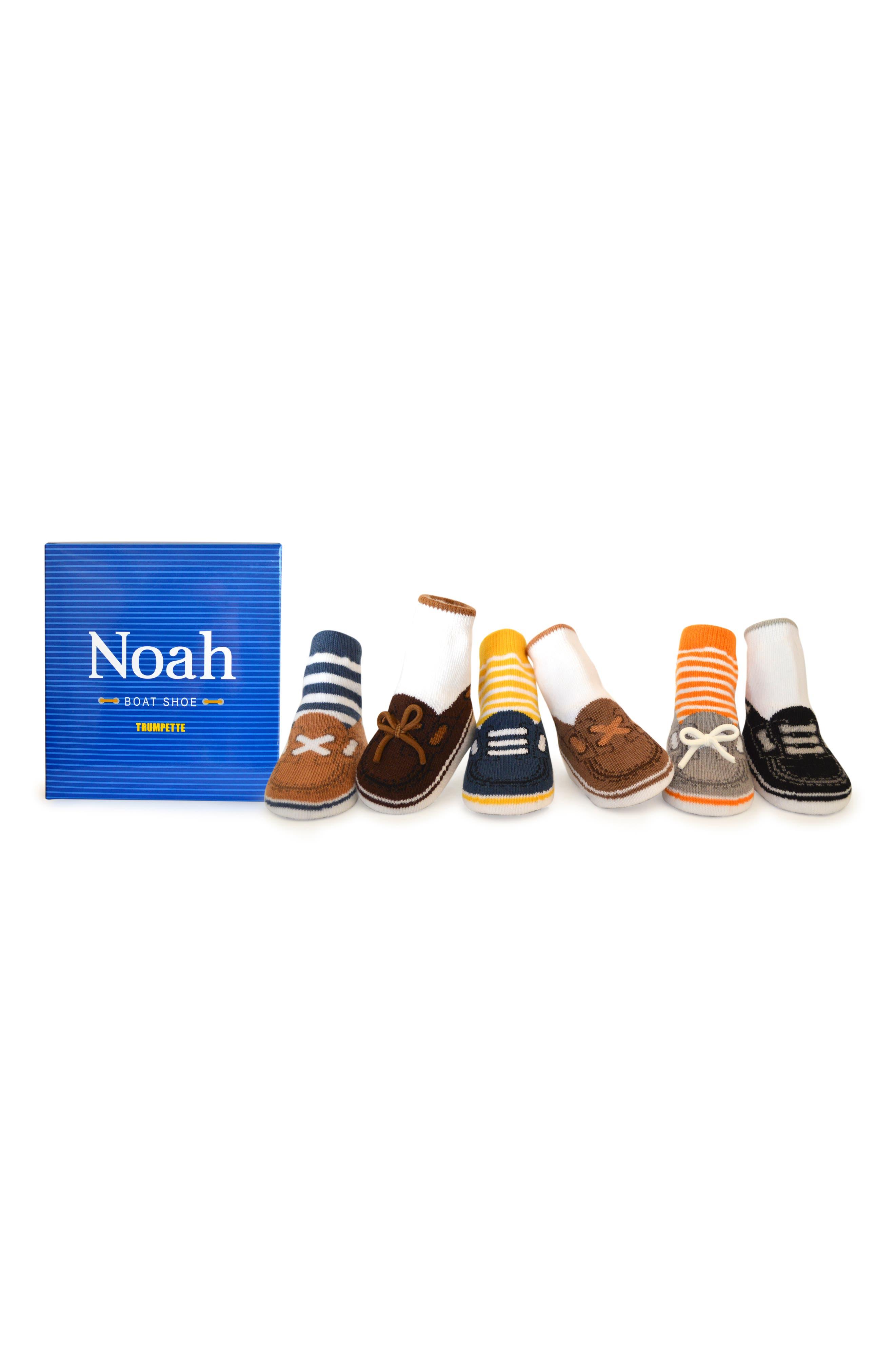 Noah 6-Pack Socks,                         Main,                         color, ASSORTED NEUTRAL