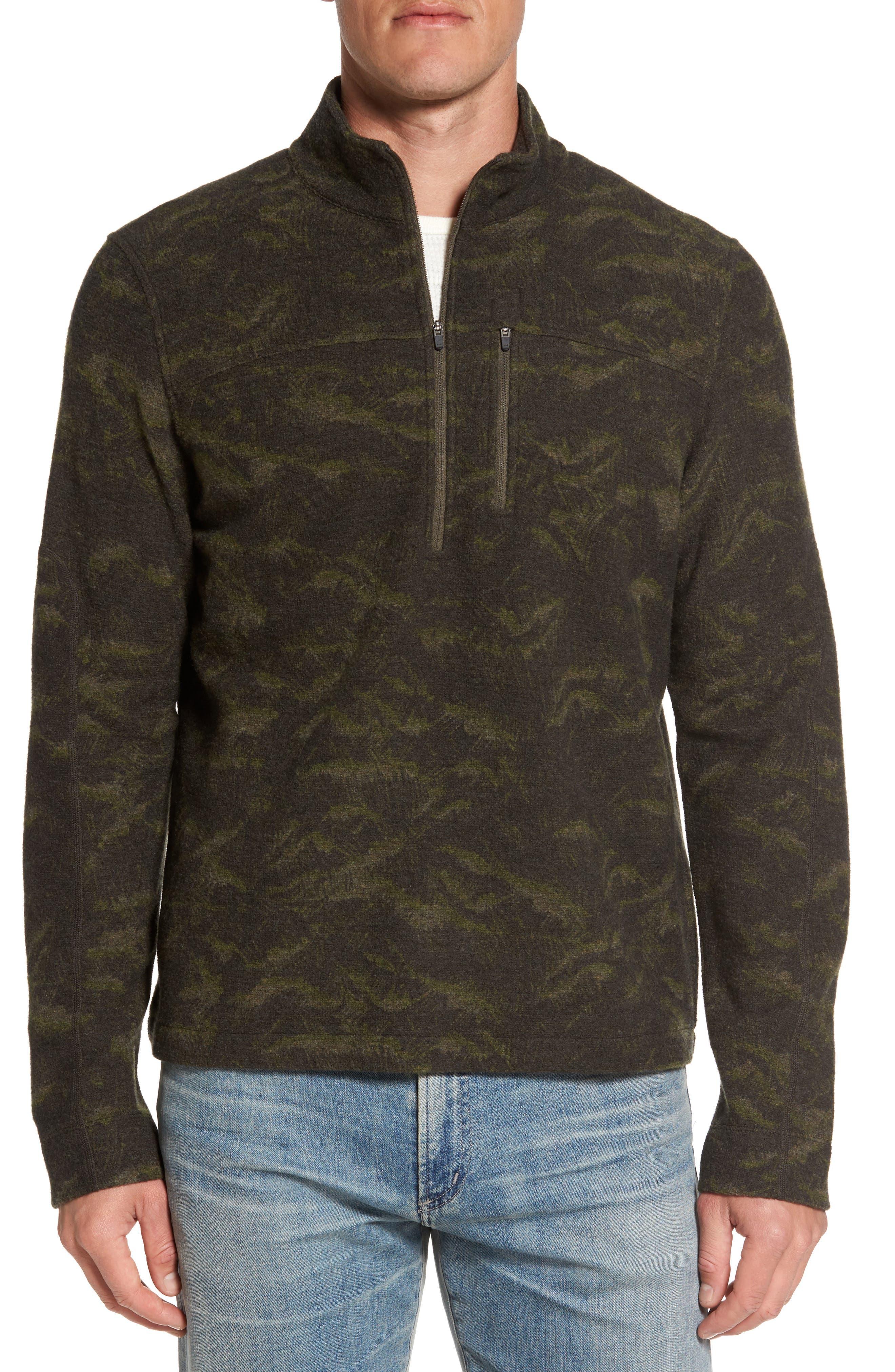 Scout Jura Merino Wool Blend Quarter Zip Pullover,                             Main thumbnail 2, color,