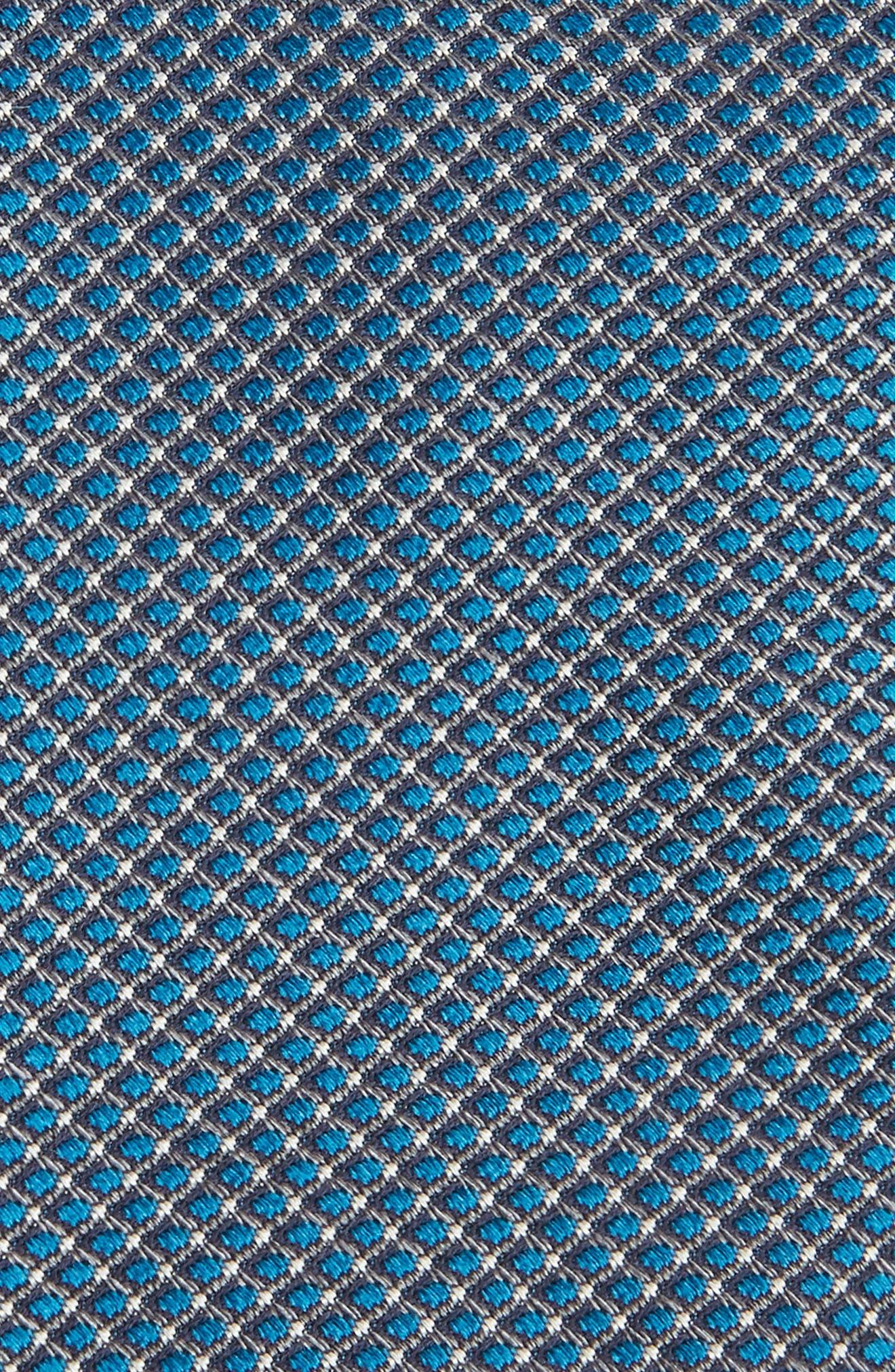 'Grayson Mini' Silk Tie,                             Alternate thumbnail 2, color,                             001