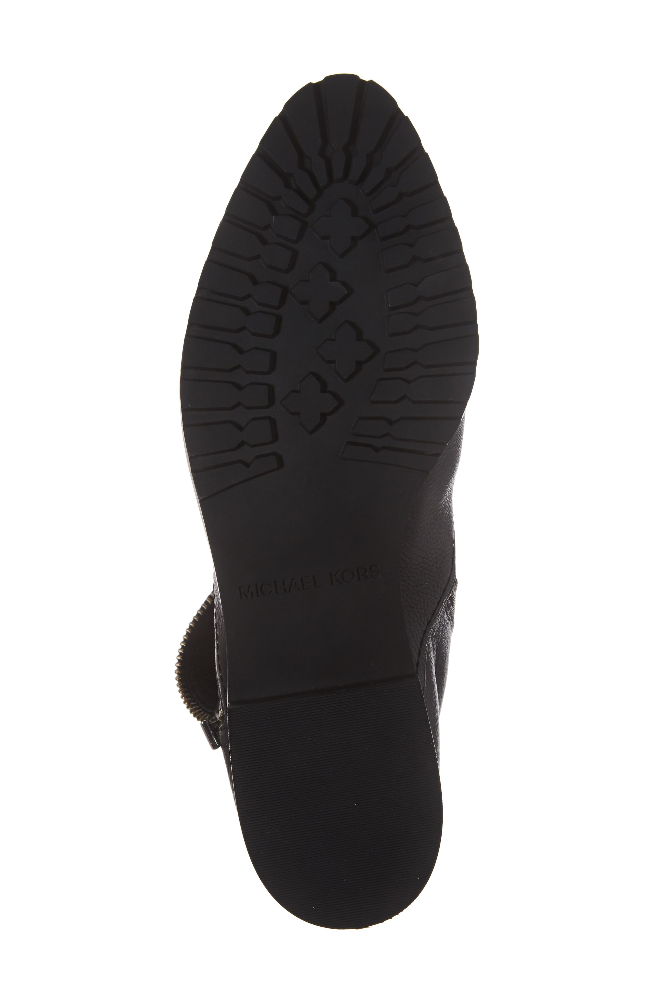 Andi Flat Bootie,                             Alternate thumbnail 6, color,                             001