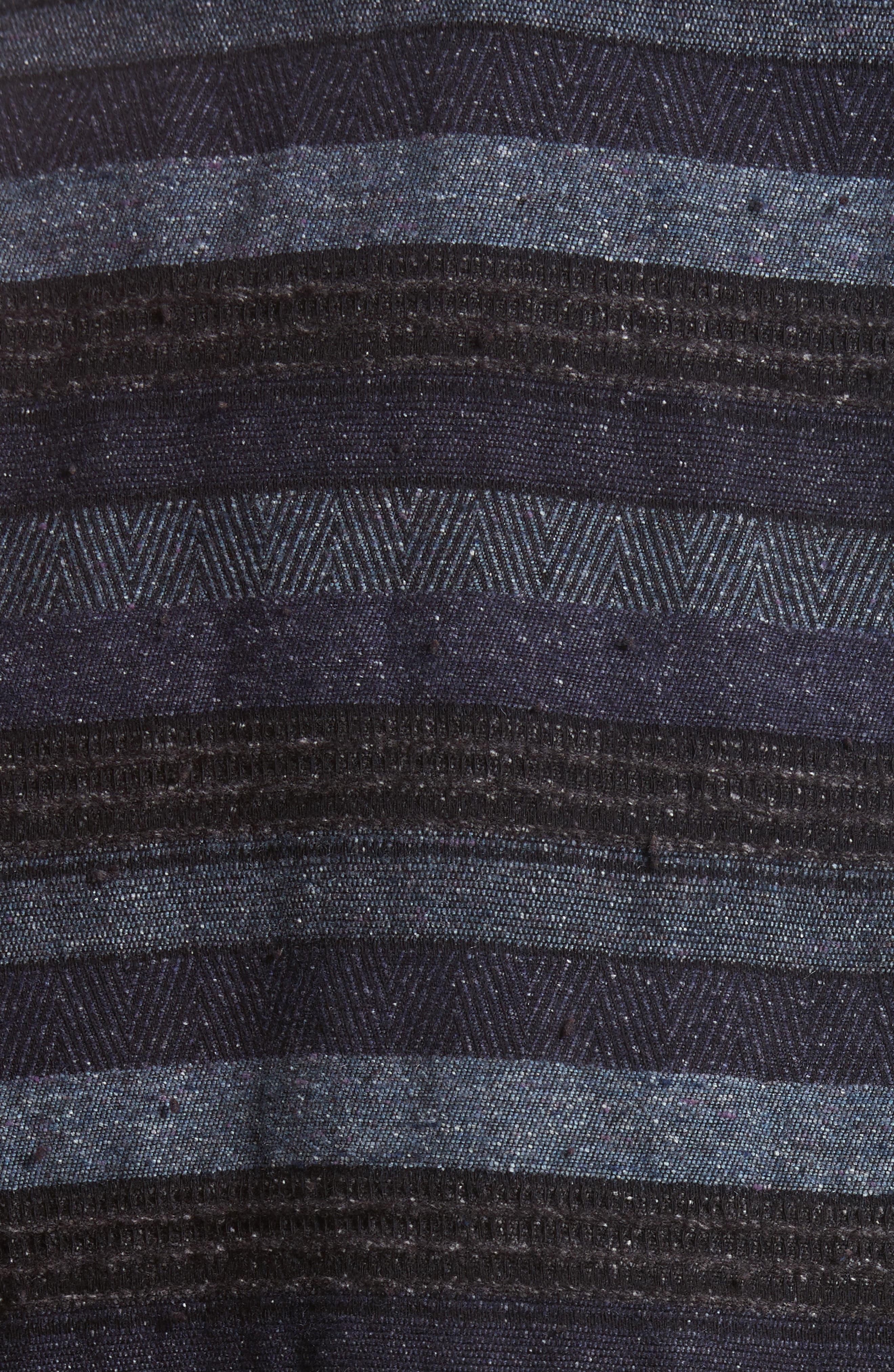 Napoli Mix Stripe Shirt,                             Alternate thumbnail 5, color,                             461