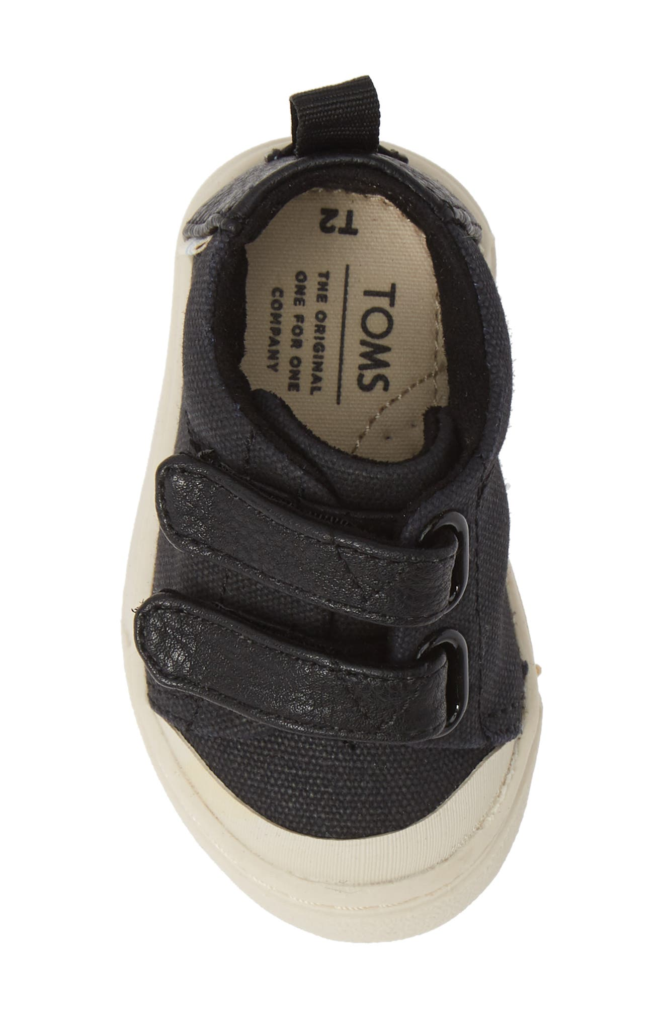 Lenny Mid Top Sneaker,                             Alternate thumbnail 5, color,                             001