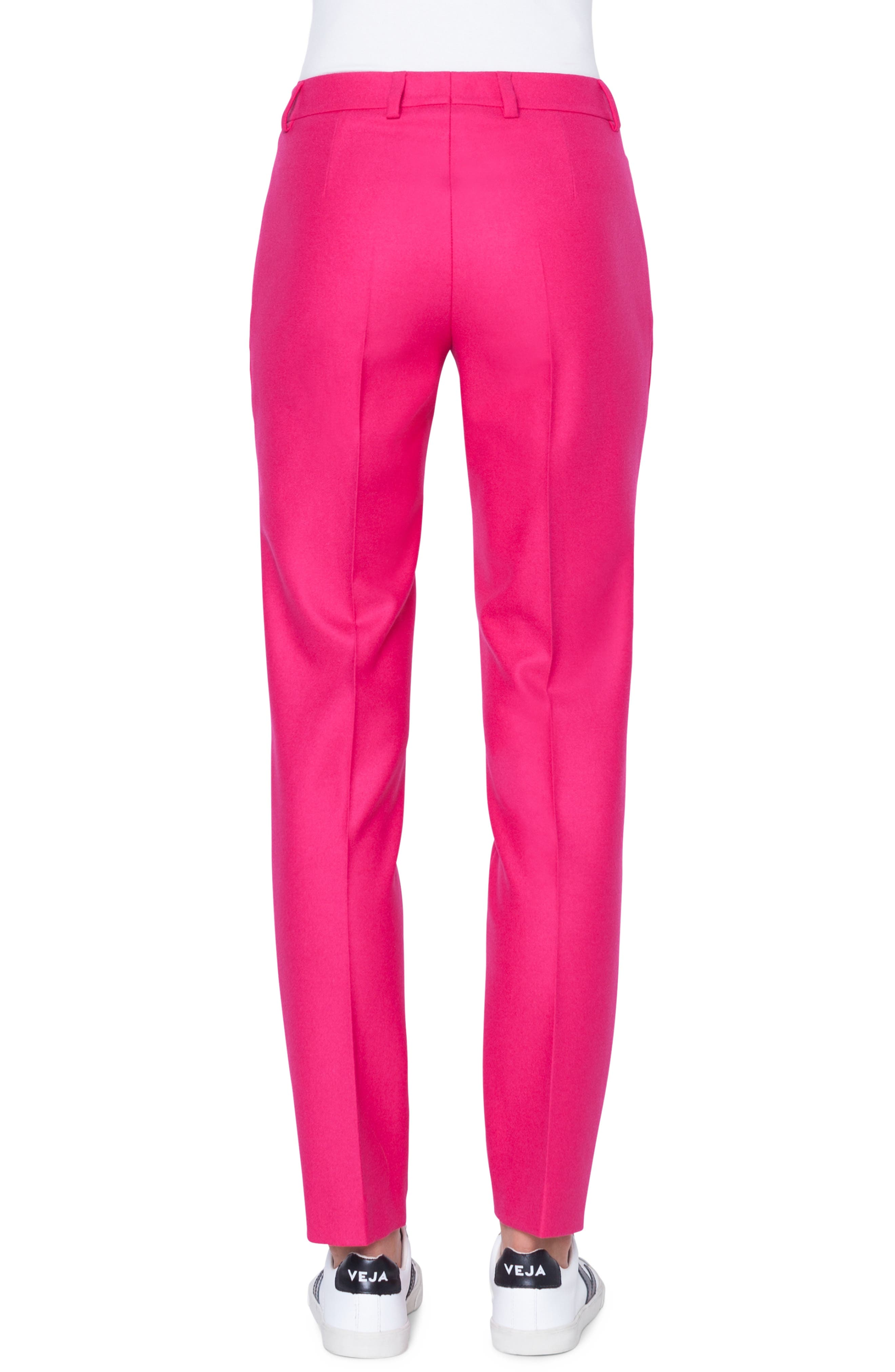 Melvin Stretch Wool Flannel Pants,                             Alternate thumbnail 2, color,                             067 PINK
