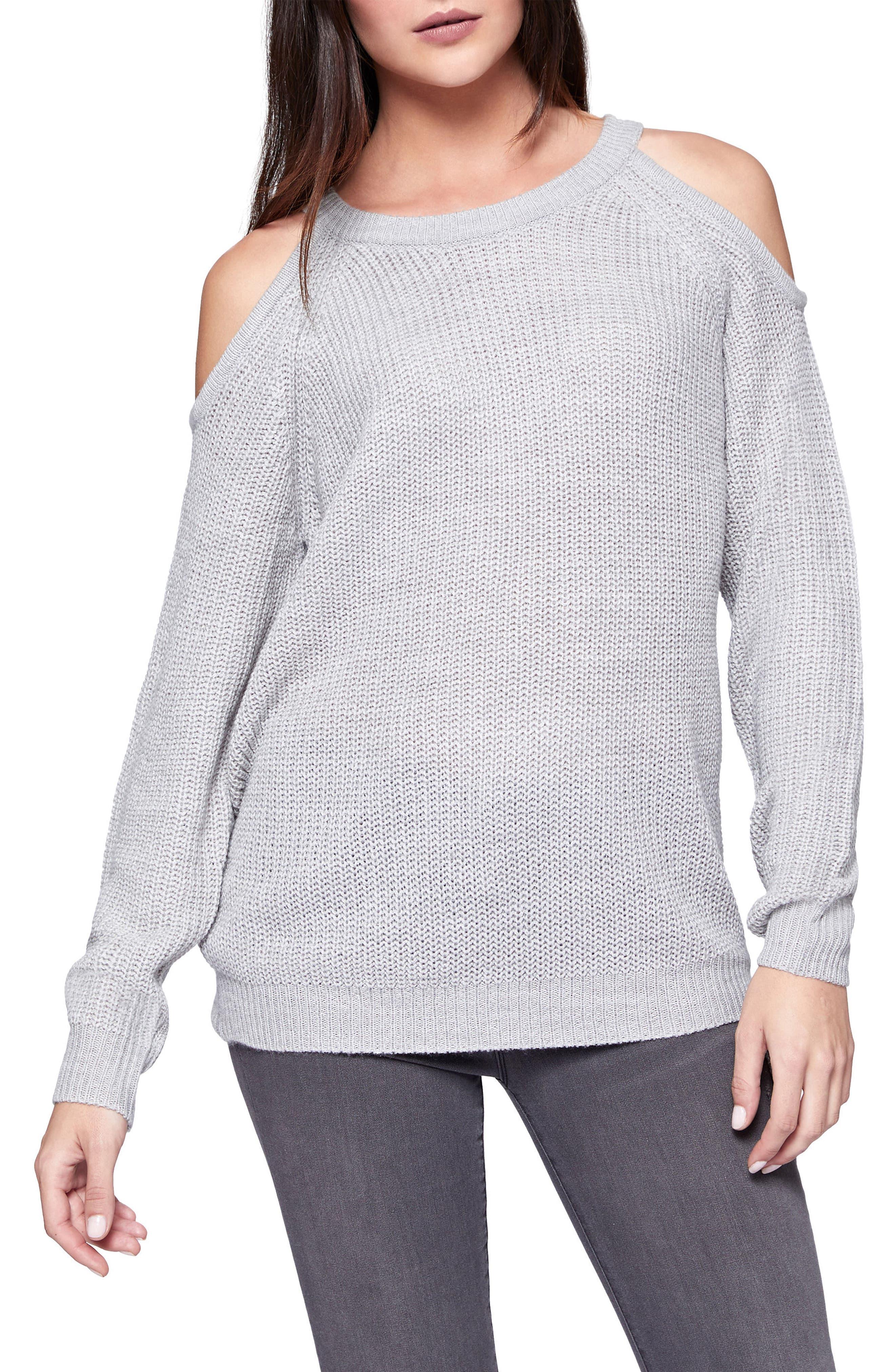 Riley Cold Shoulder Sweater,                             Main thumbnail 5, color,