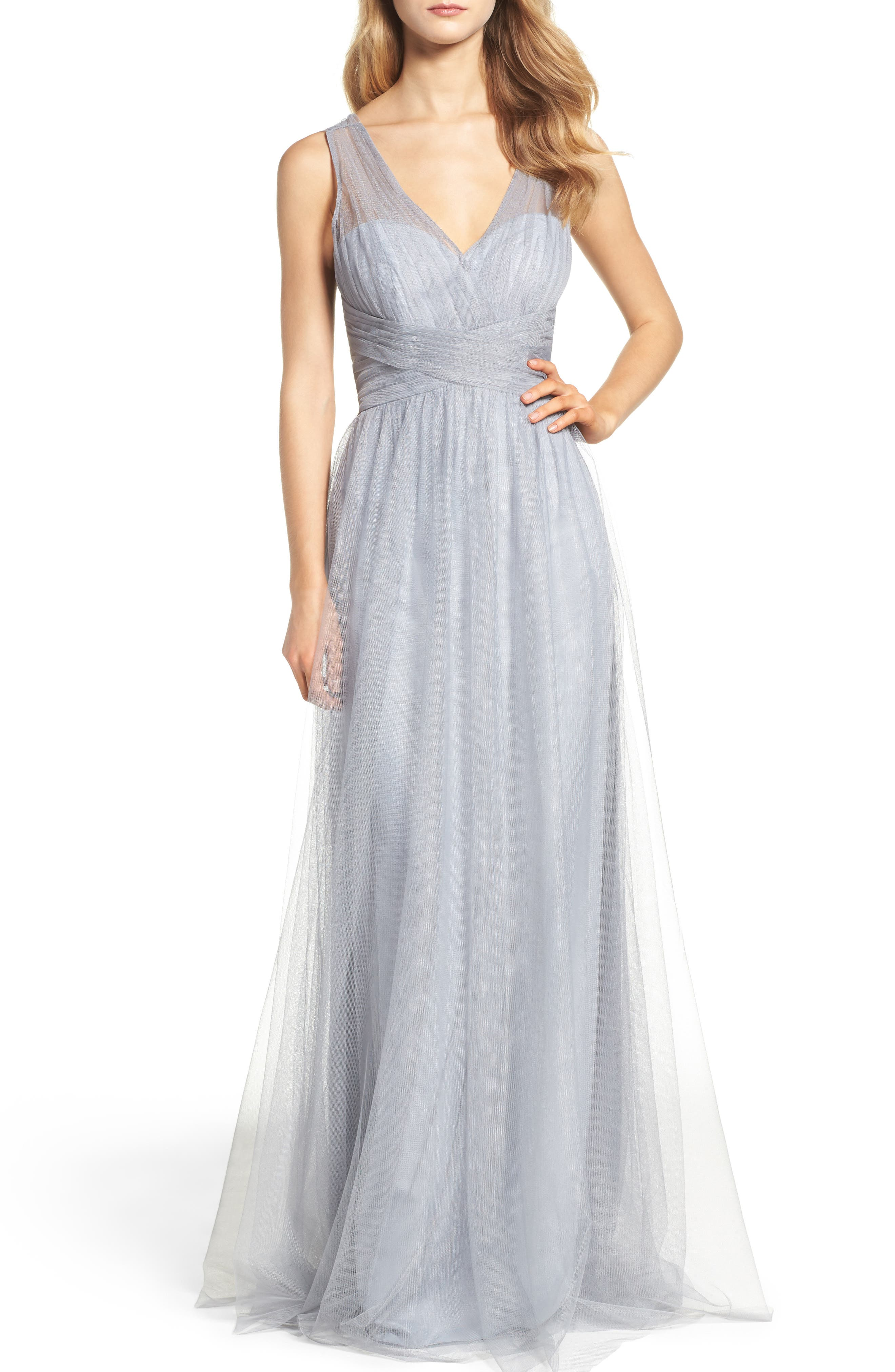 Illusion Gown,                         Main,                         color, 020